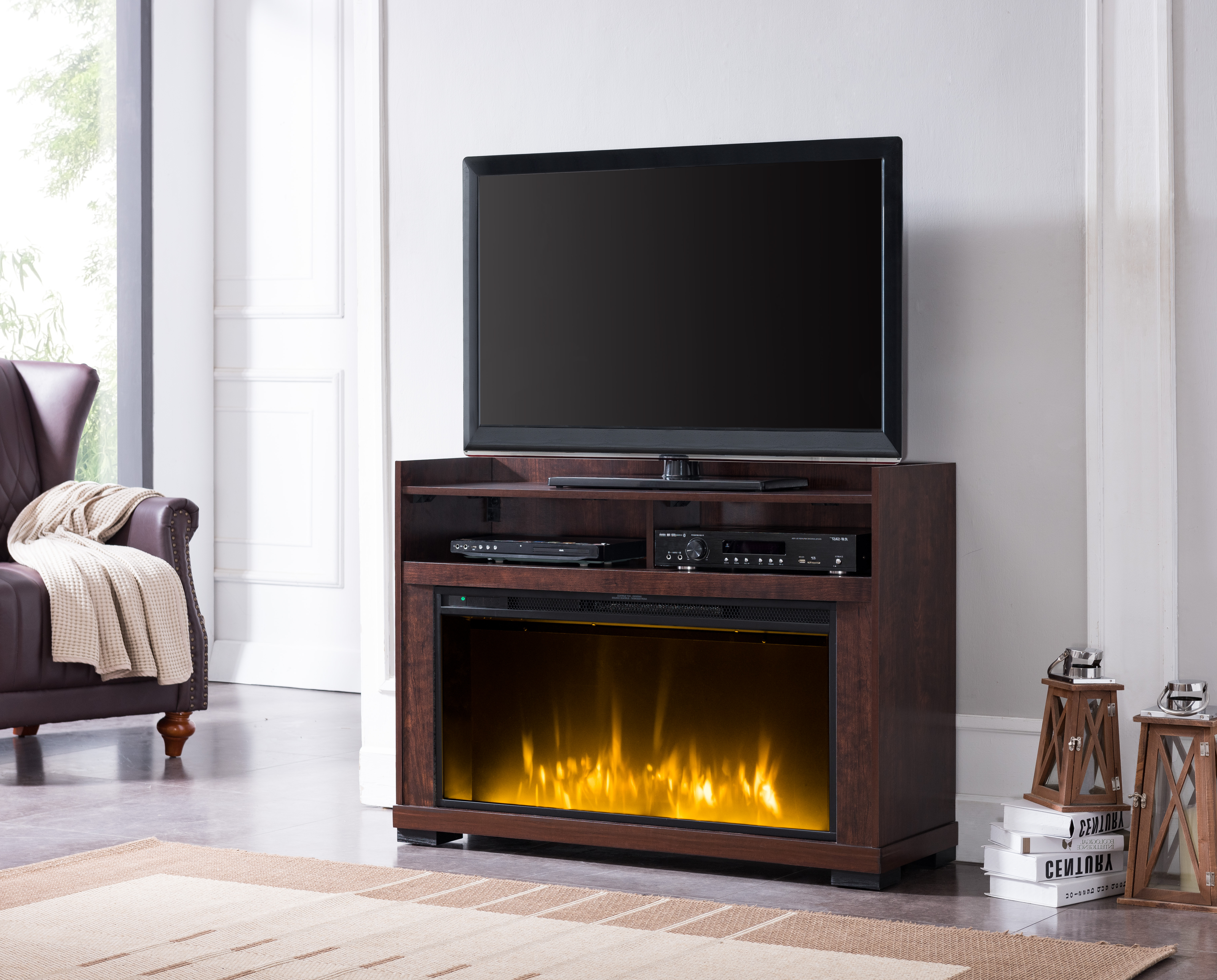 Most Popular Tv Stands With Baskets With Regard To Tv Stands & Entertainment Centers – Walmart (View 15 of 20)