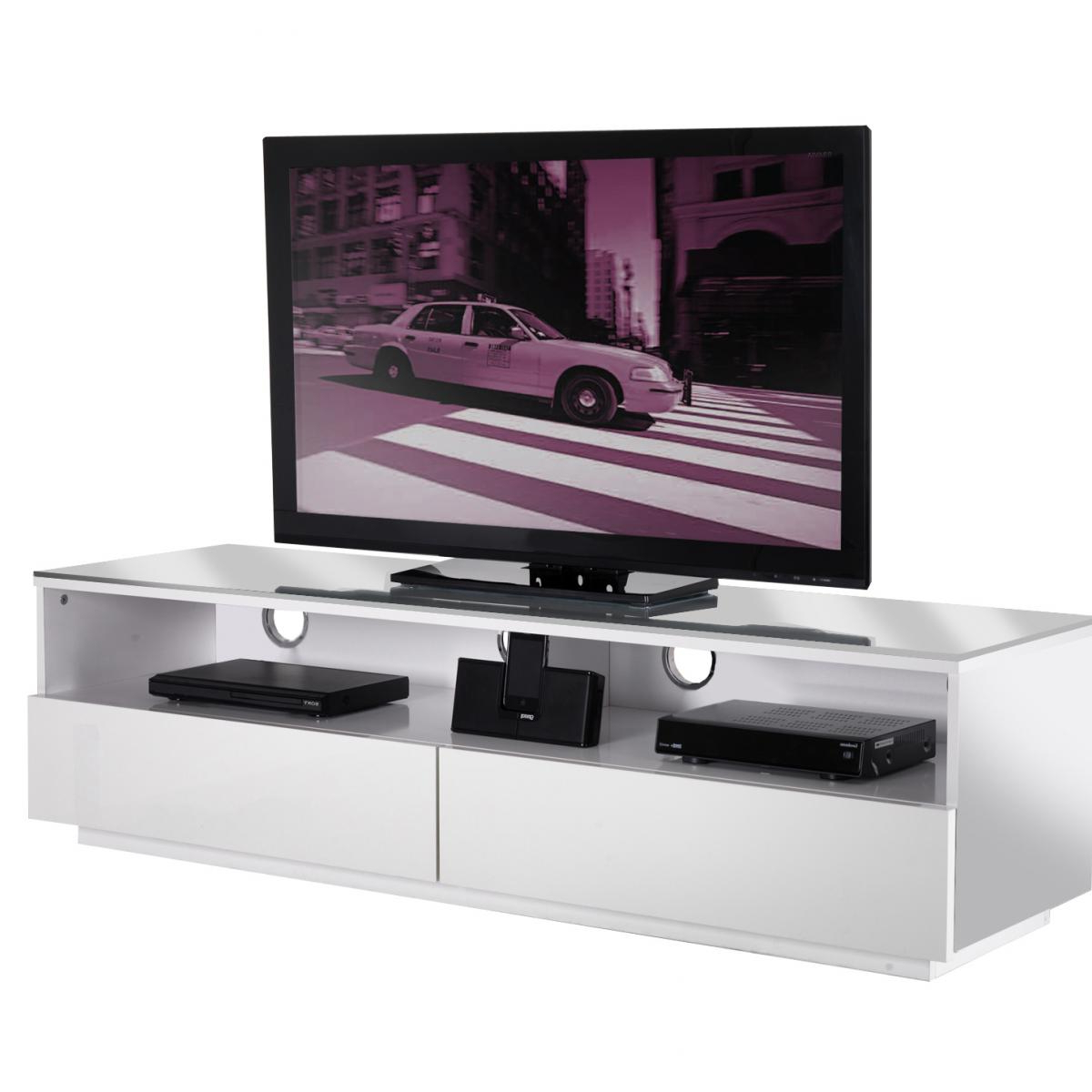 Most Recent 0413 Ukcf Milan White Gloss Corner Tv Stand 150Cm Pertaining To White Gloss Corner Tv Stands (View 8 of 20)