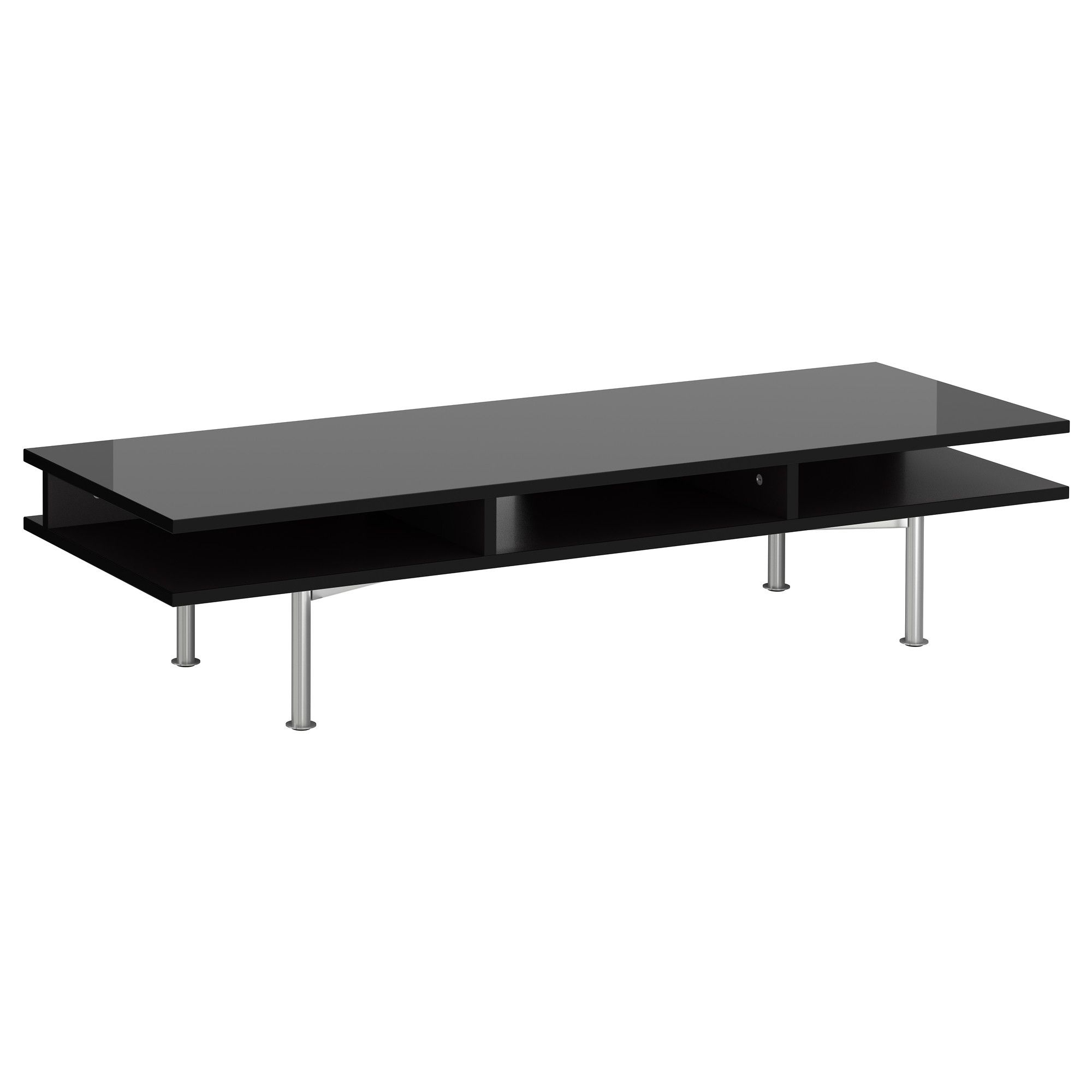 Most Recent Black Gloss Tv Benches Inside Tofteryd Tv Unit – High Gloss Black – Ikea $ (View 13 of 20)