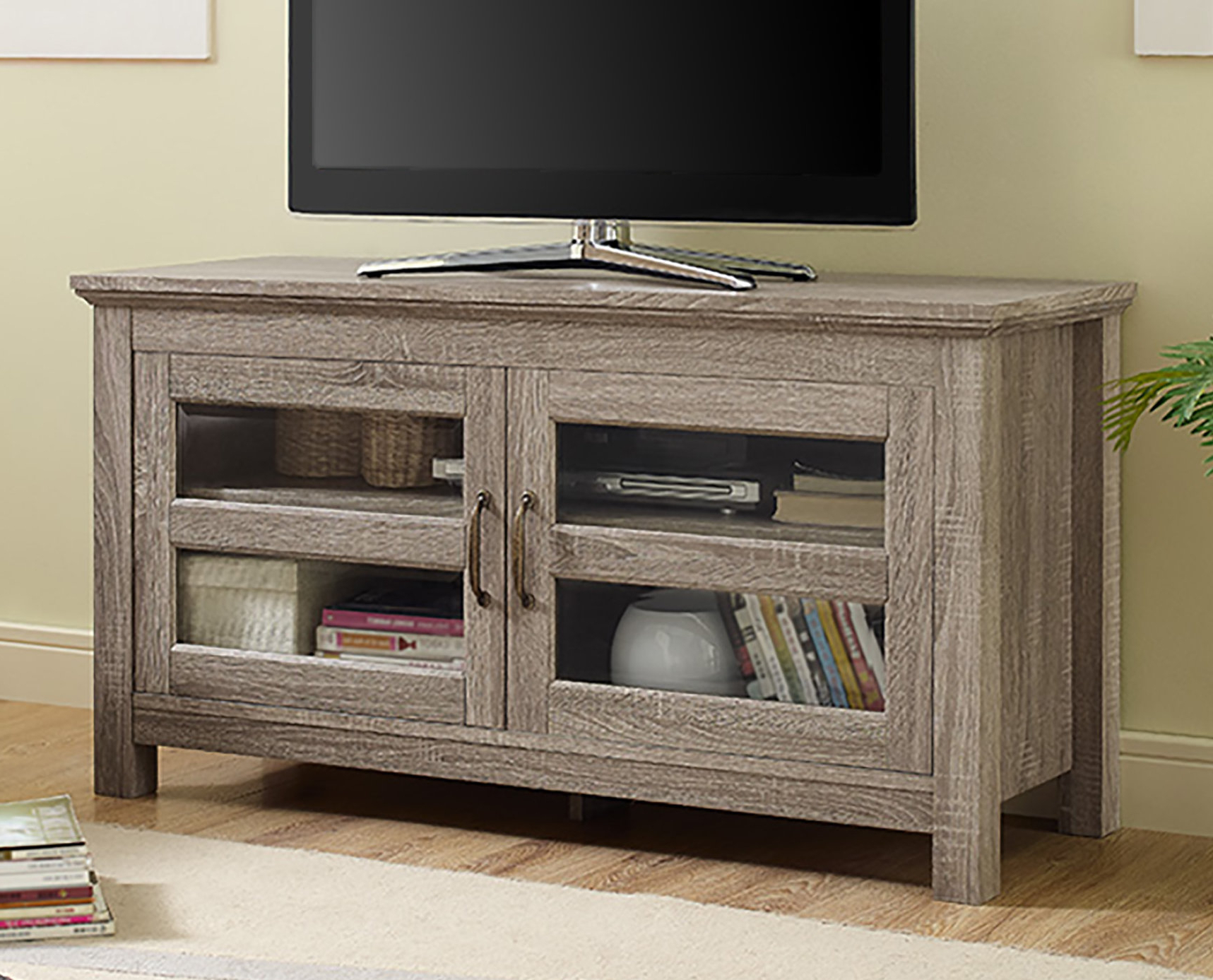 Most Recent Cabinet Tv Stands Pertaining To Tv Stands & Entertainment Centers You'll Love (View 6 of 20)