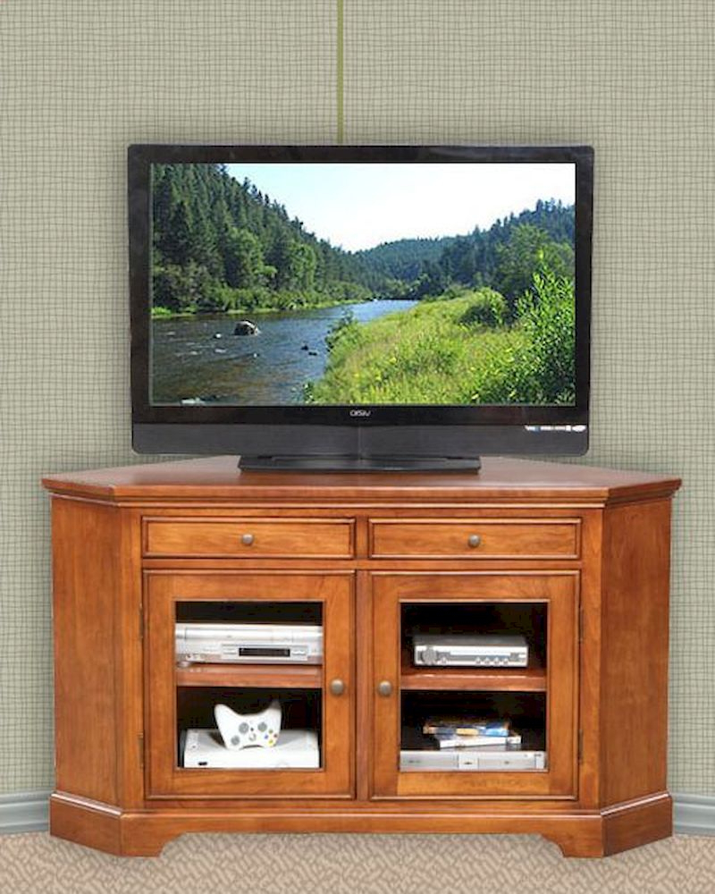 Most Recent Corner Tv Cabinets With Glass Doors Pertaining To Winners Only Gldoor Corner Tv Stand Wo Tt155Wb Glass Oak Cabinet (Gallery 17 of 20)