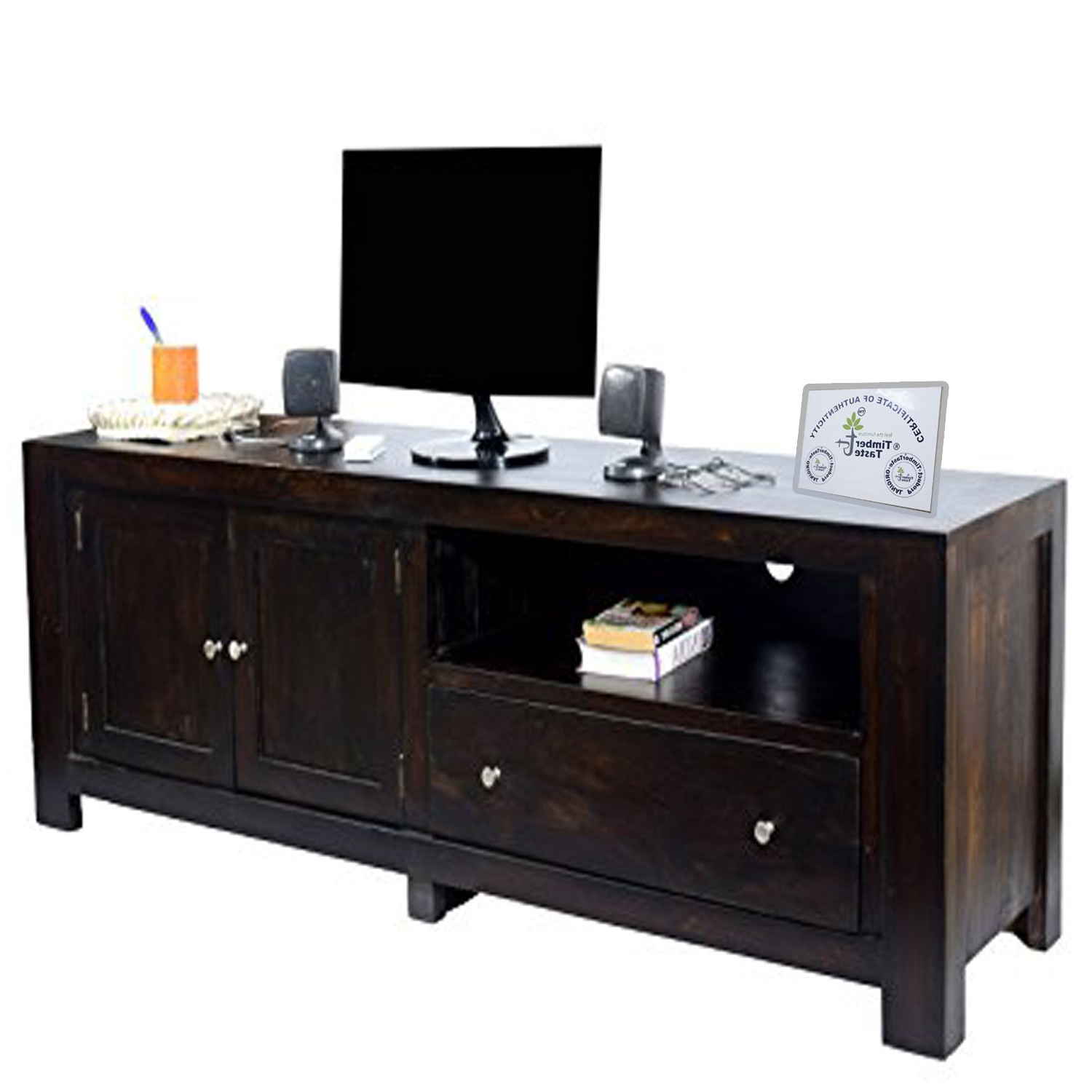 Most Recent Daintree New Cuba Tv Unit Cabinet (Lacquer Finish, Dark Walnut Throughout Daintree Tv Stands (Gallery 18 of 20)
