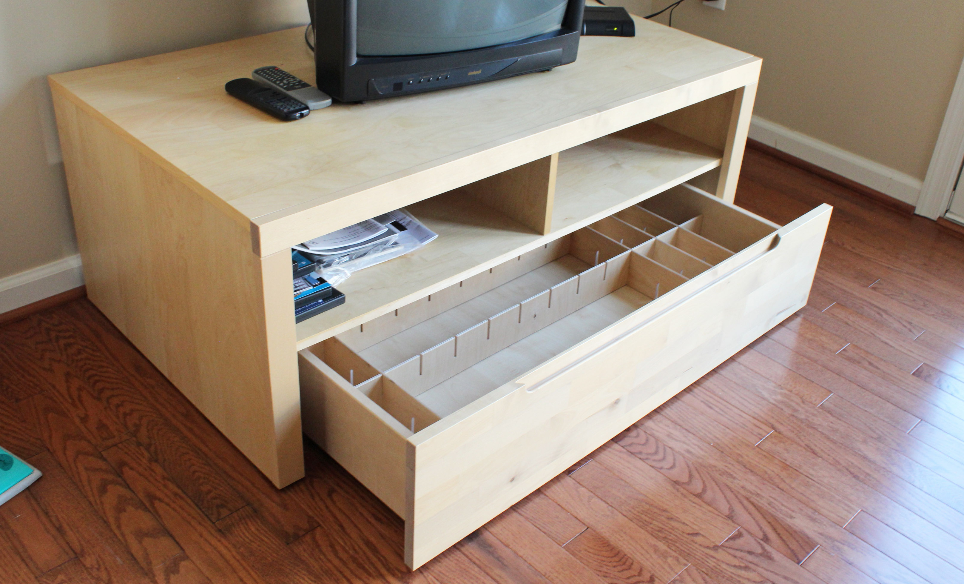 Most Recent Diy Tv Stand Wood Build Plans Mdf Furniture Laquo Nosy13ari Crates In Birch Tv Stands (View 9 of 20)