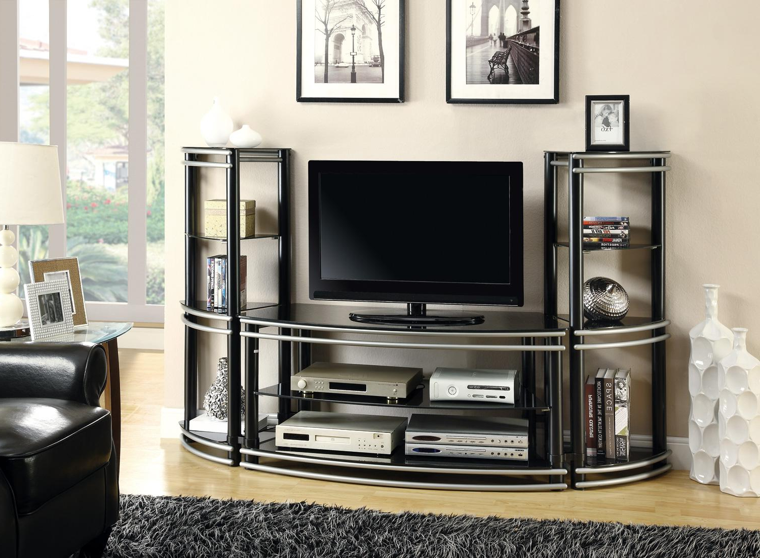 Most Recent Ikea Besta Corner Tv Stand For 55 Inch Hack Entertainment Cabinet In Open Shelf Tv Stands (View 7 of 20)