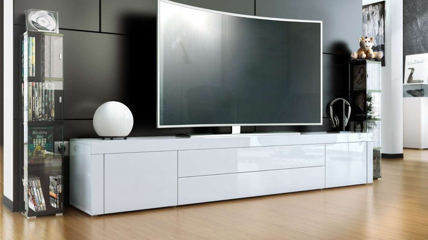 Most Recent Newest Bdi Nora 8239 W Tv Stands White Gloss Tv Stand Pertaining To Modern White Gloss Tv Stands (View 19 of 20)