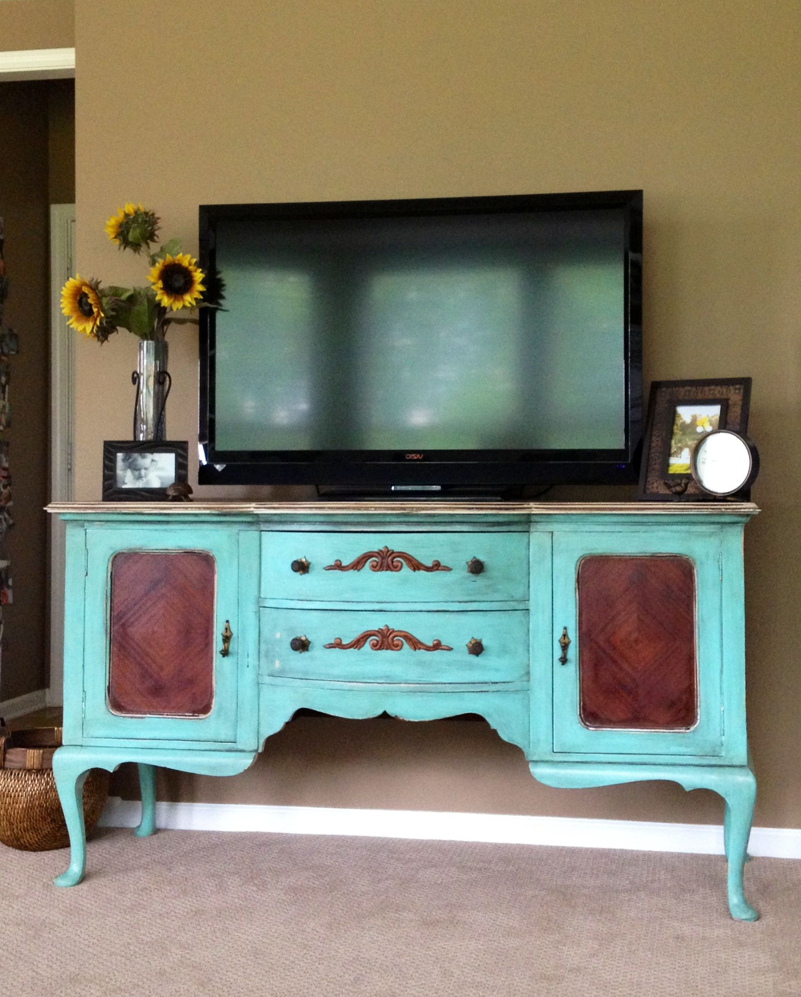 Most Recent Old Buffet Made Into Tv Stand (View 11 of 20)