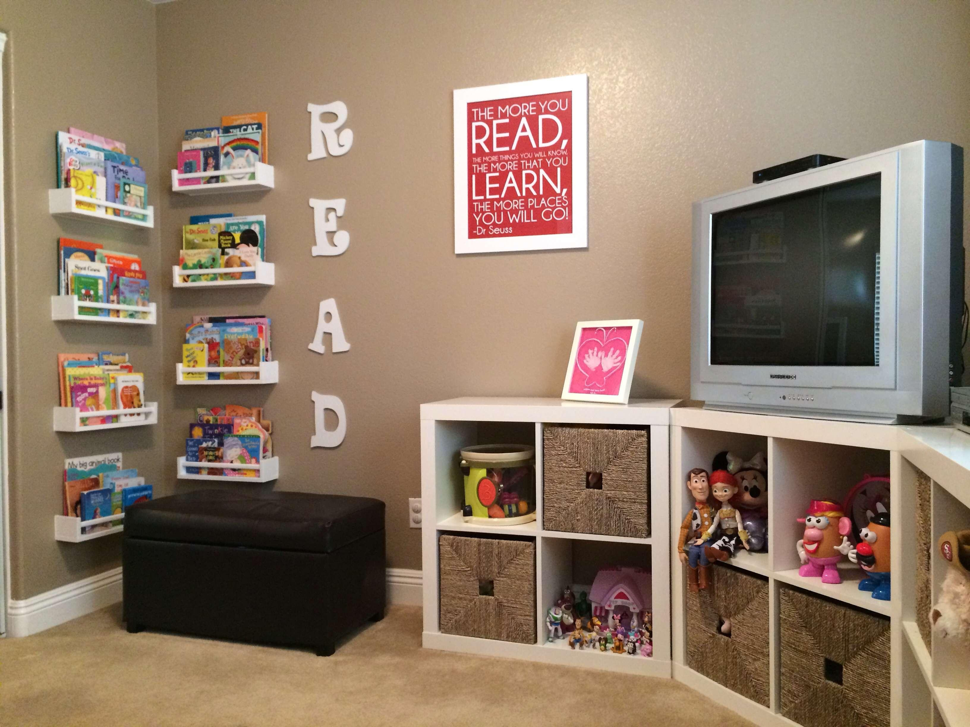 Most Recent Over The Weekend We Installed Soundproofing Insulation – Homey Homes With Playroom Tv Stands (View 10 of 20)