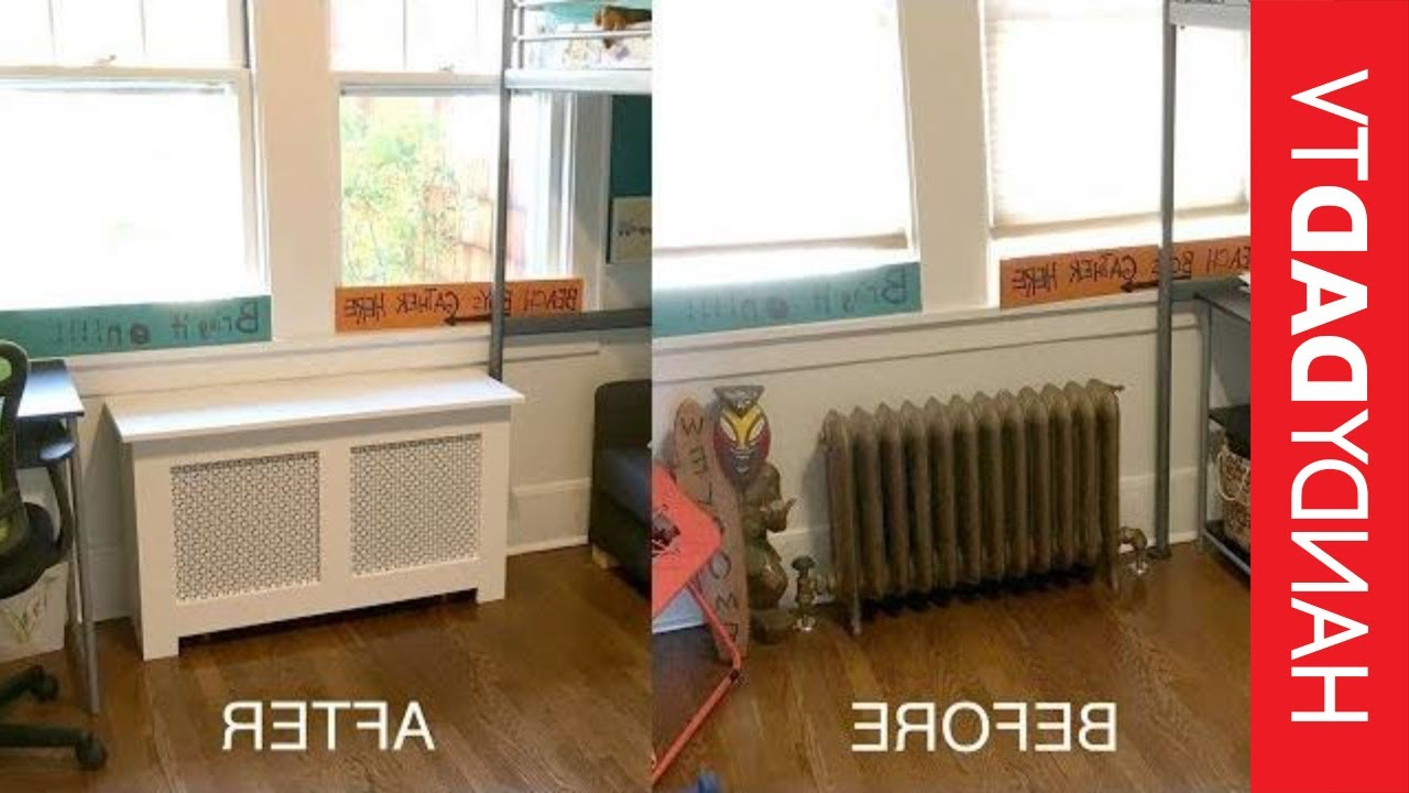 Most Recent Radiator Cover Tv Stands Within Diy Radiator Covers – Youtube (View 9 of 20)