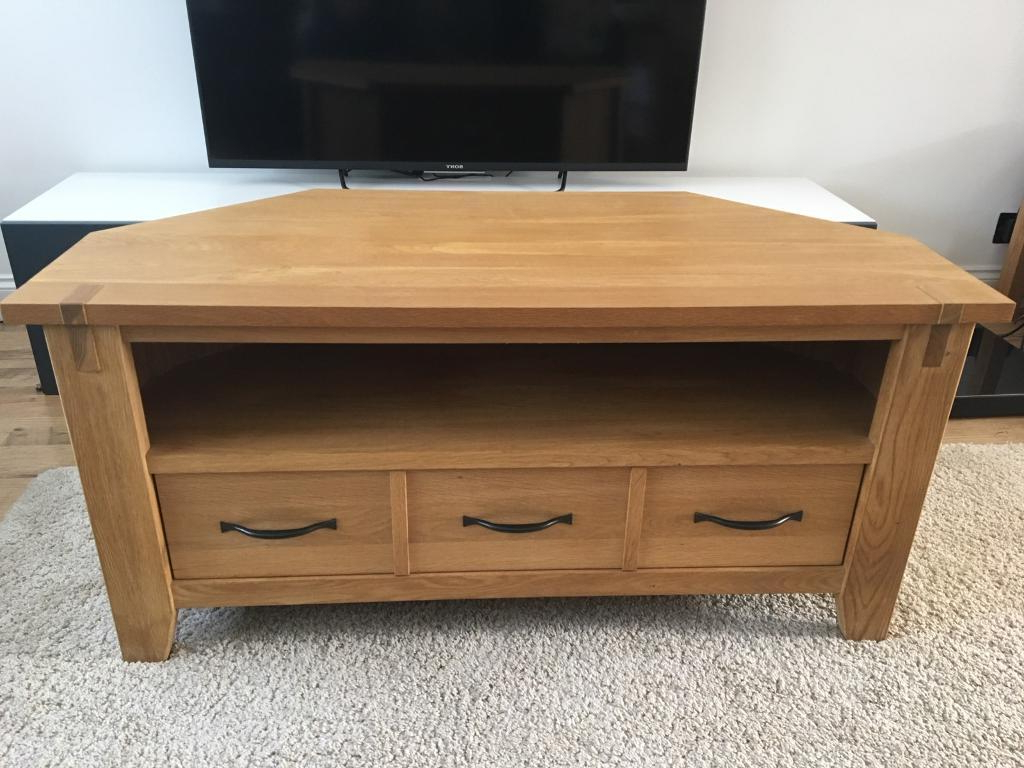 Most Recent Solid Oak Corner Tv Cabinets In Next *solid Oak* Corner (View 18 of 20)