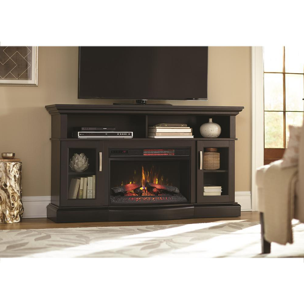 Most Recently Released Bjs Tv Stands Inside Tv Stand Fireplace Bjs: Dimplex Gds Gd Rs Axel Electric Fireplace Tv (View 17 of 20)