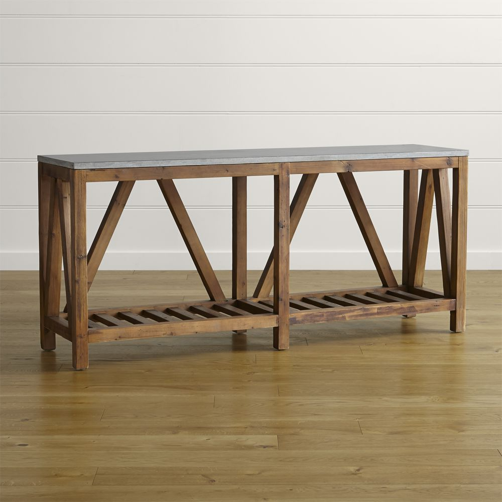 Most Recently Released Bluestone Console Table In  (View 16 of 20)