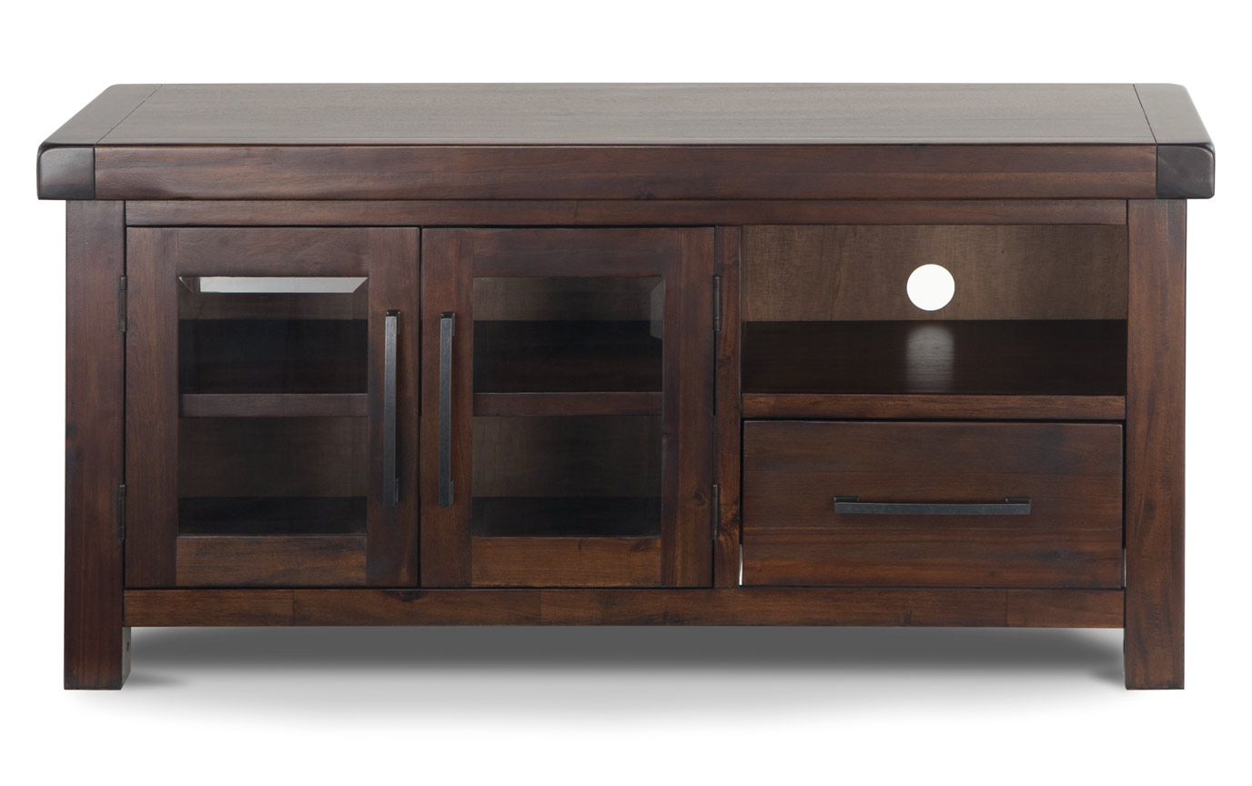 Most Recently Released Canyon 54 Inch Tv Stands Inside Hudson Tv Console (View 9 of 20)