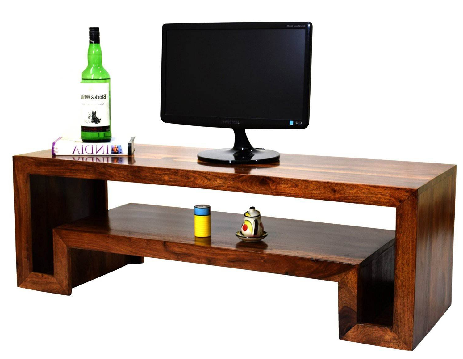 Most Recently Released Daintree Hema Solid Wood Tv Entertainment Unit (natural Teak Finish Within Daintree Tv Stands (View 15 of 20)