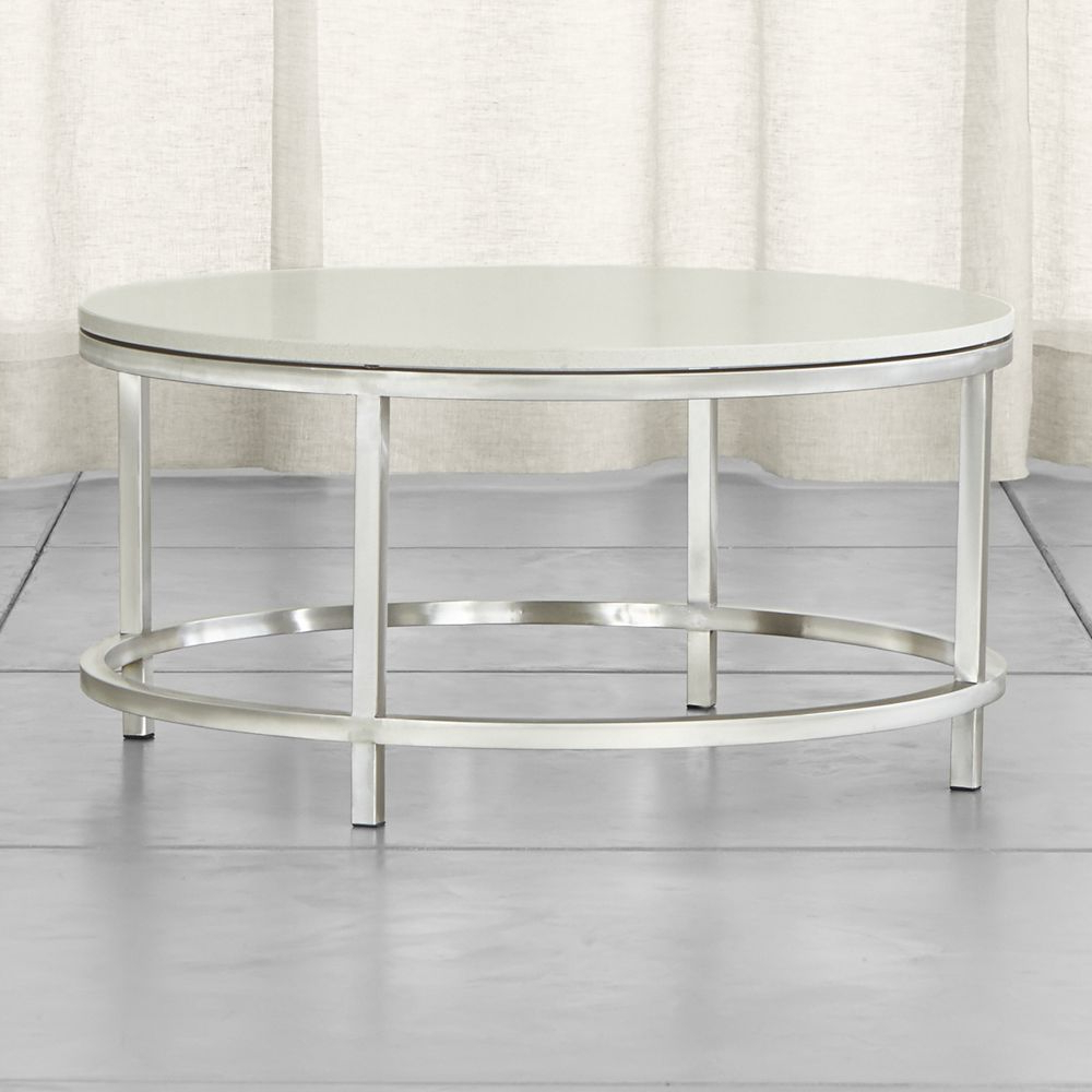 Most Recently Released Era Limestone Round Coffee Table (View 13 of 20)