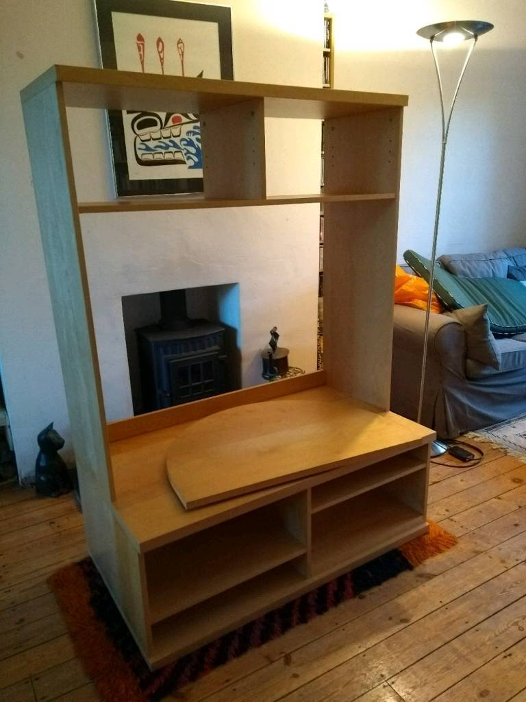 Most Recently Released Ikea Bonde Tv Stand, Turntable And Storage Unit (View 17 of 20)