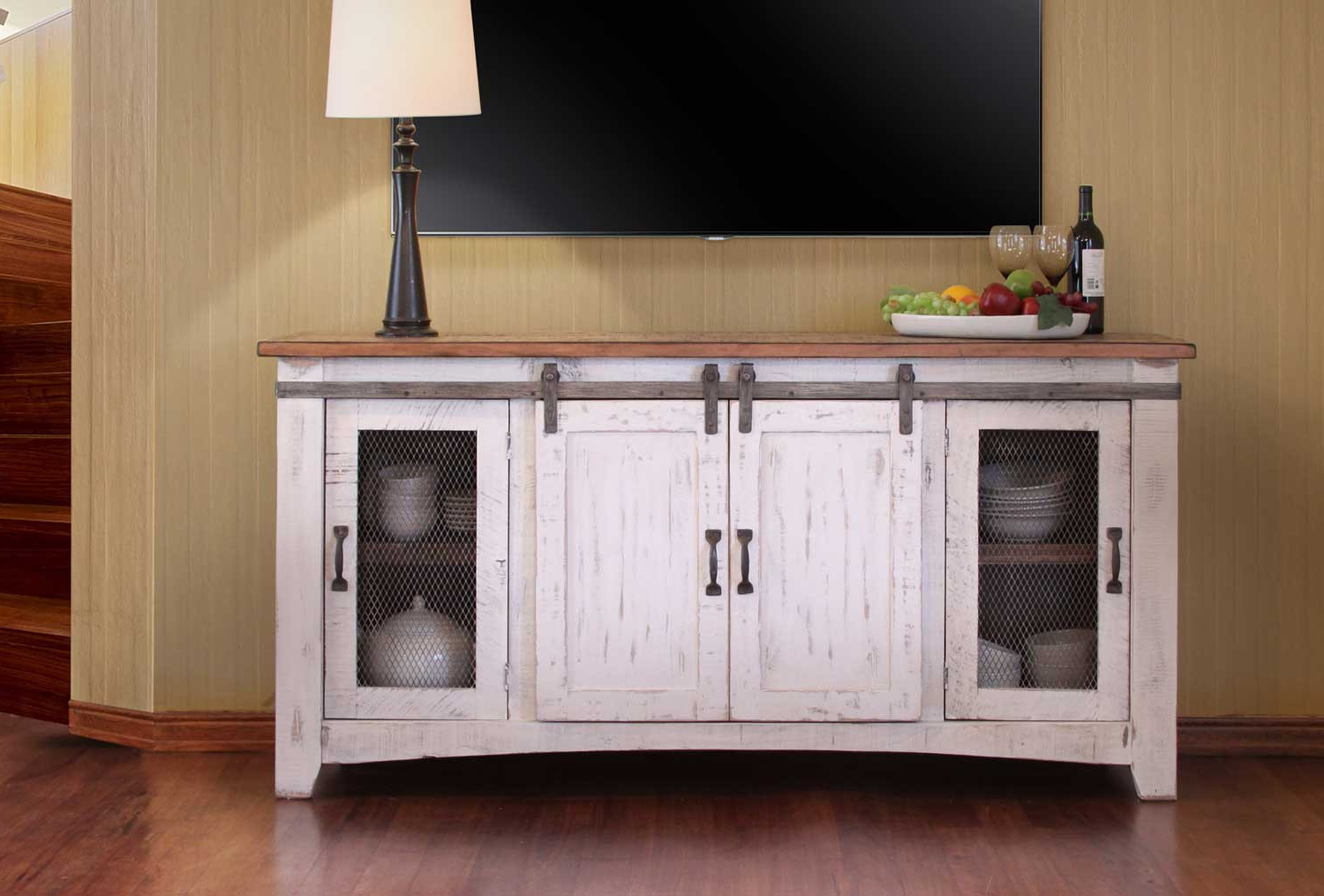 Most Recently Released Long White Tv Stands Within Pueblo White Tv Stand (View 13 of 20)