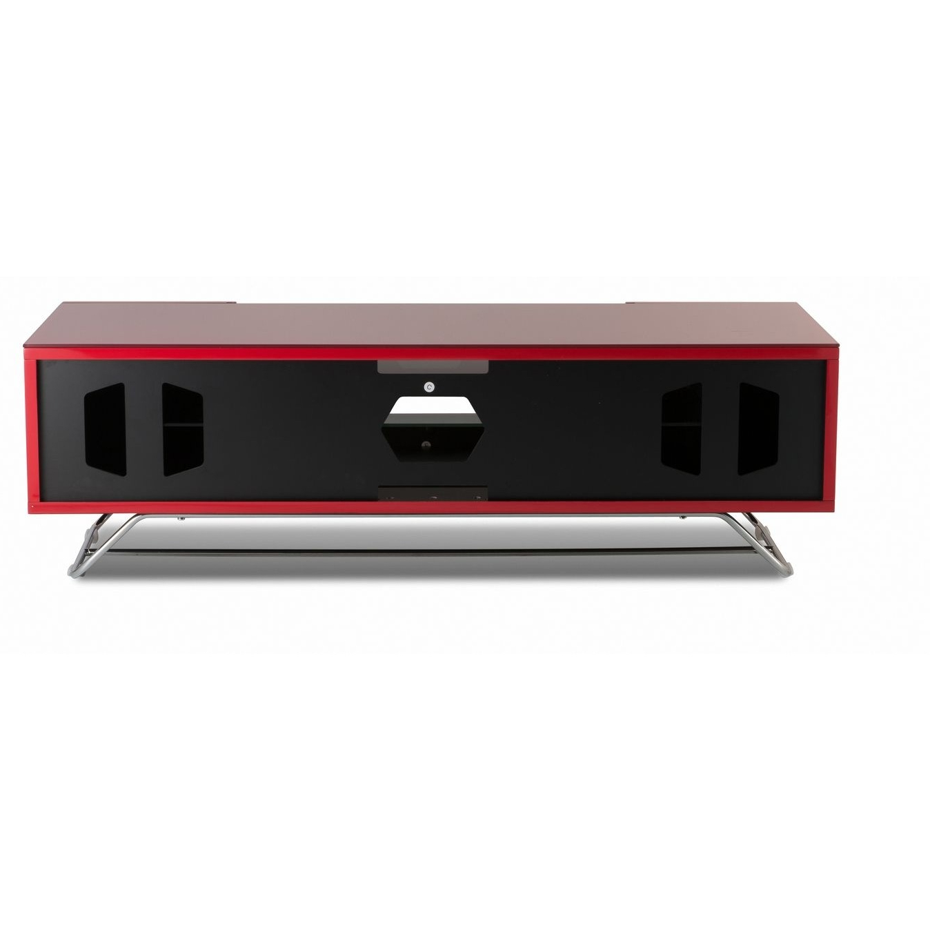 Most Recently Released Red Gloss Tv Stands Within Alphason Chromium 2 Tv Stand Cro2 1200Cb Red Red Gloss Tv Cabinet (Gallery 20 of 20)