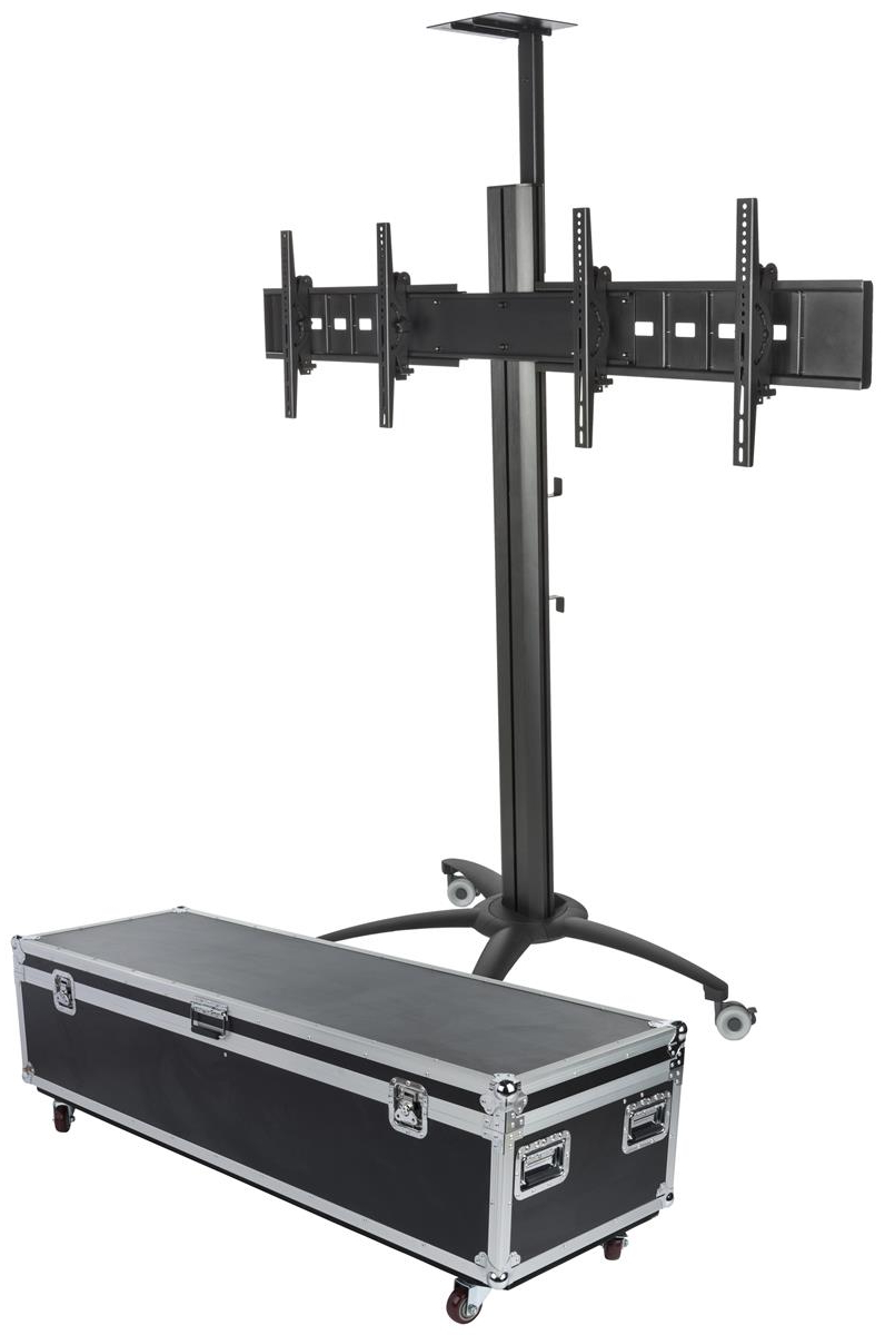Most Recently Released Rolling Dual Tv Stands (View 17 of 20)