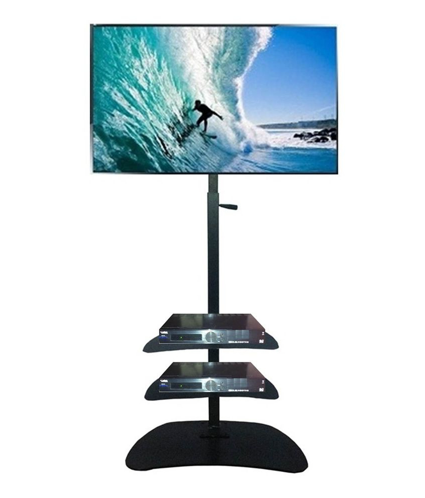Most Recently Released Smart Shelter Premium Lcd/led Plasma Tv Height Adjustable Floor For Plasma Tv Holders (View 10 of 20)