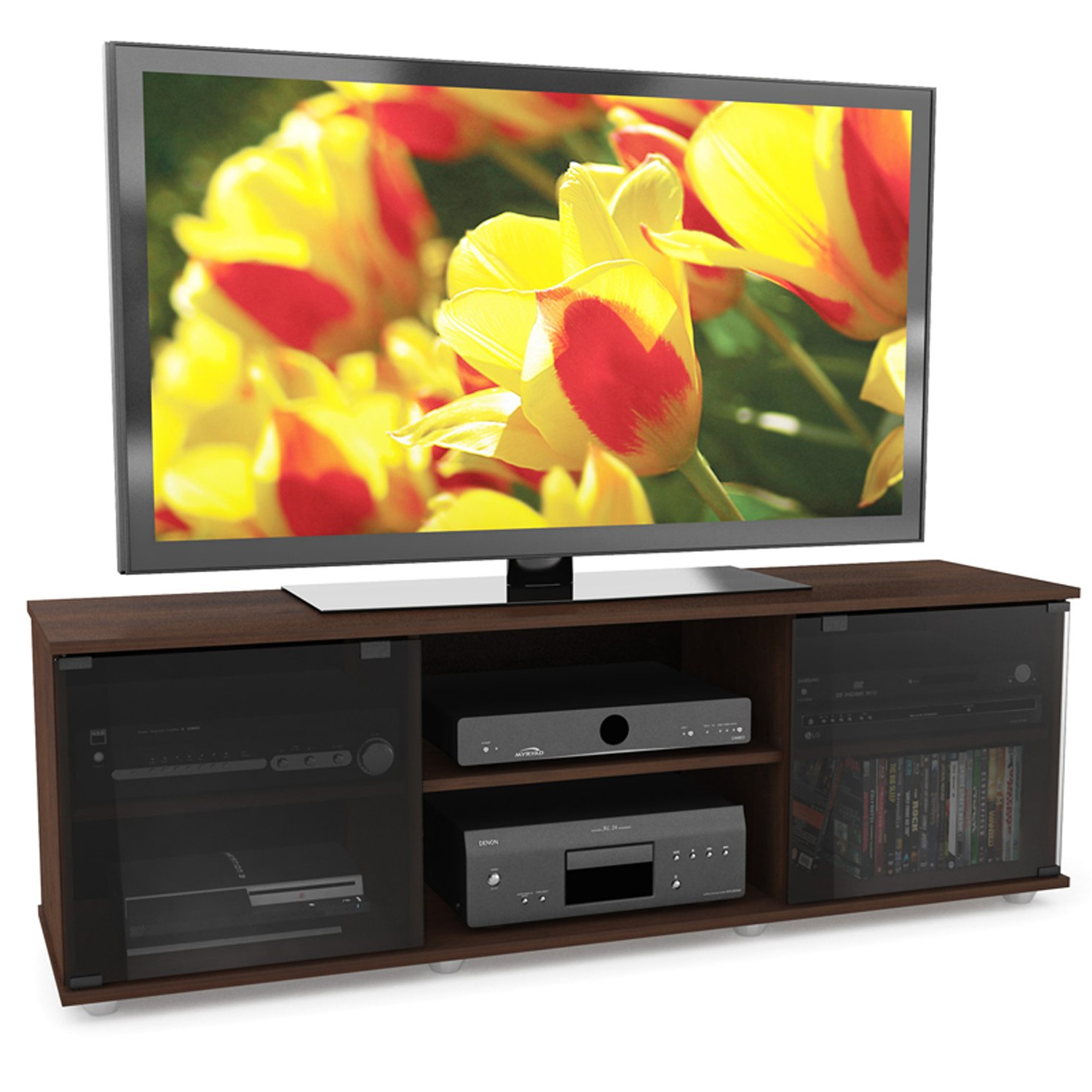 Most Recently Released Sonax Fb 2607 Fiji Tv Stand, Brown Throughout Sonax Tv Stands (View 15 of 20)