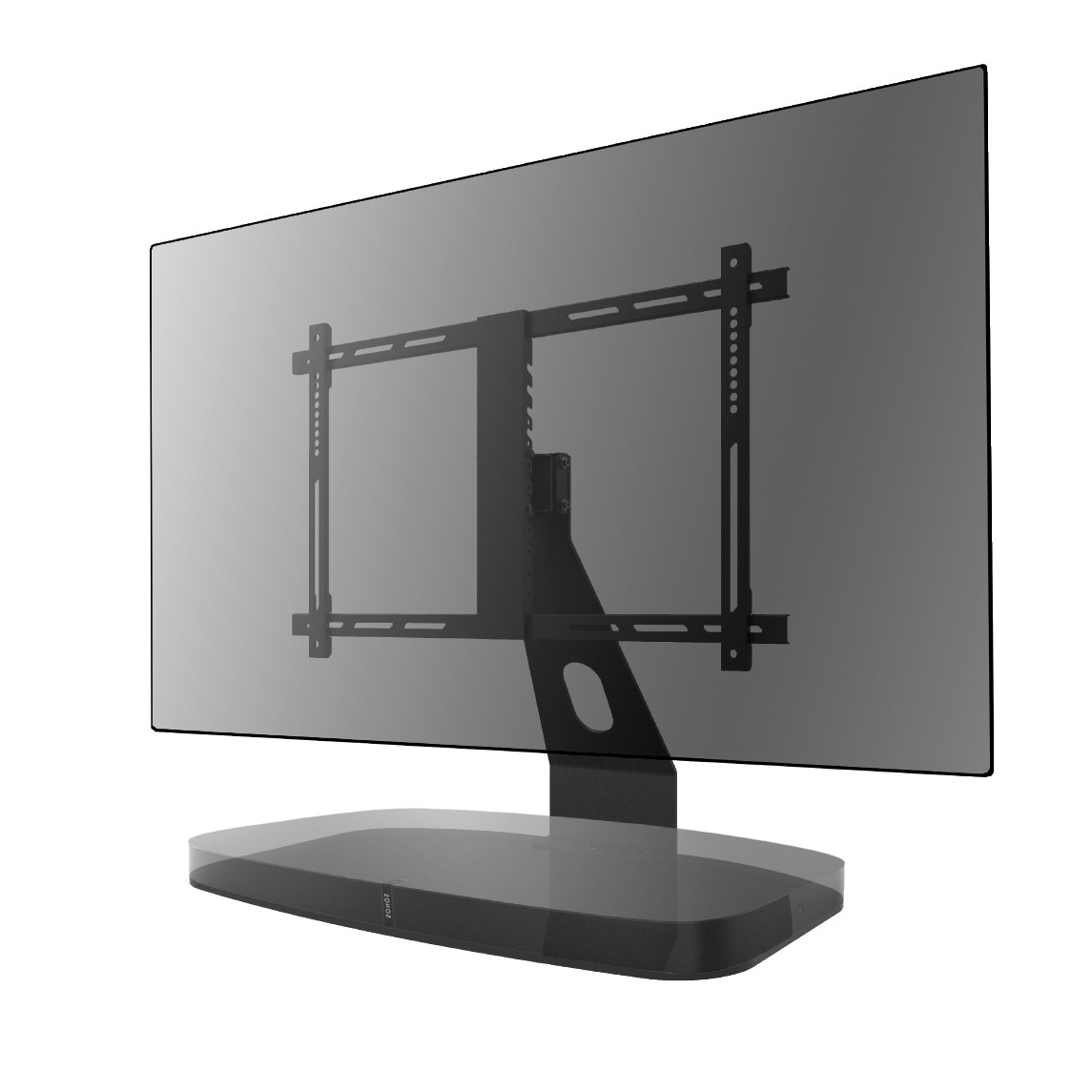 Most Recently Released Sonos Tv Stands With Regard To Tv Stand For Sonos Playbase Black – Table Stands – Tv Stands (View 12 of 20)