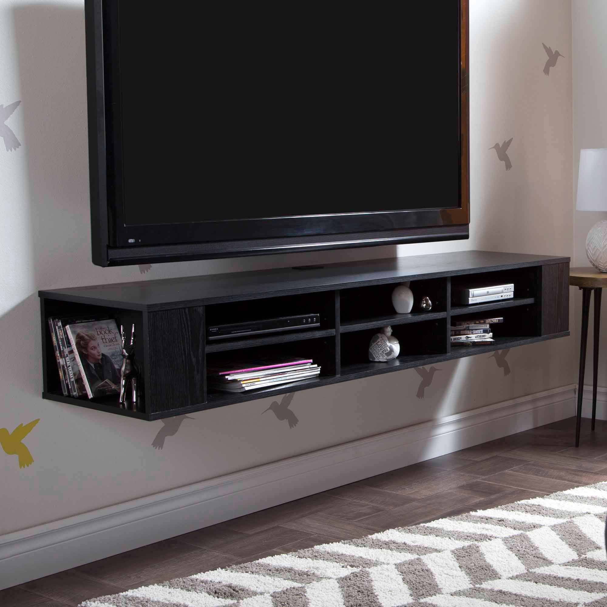 "Most Recently Released South Shore City Life 66"" Wall Mounted Tv Stand, Multiple Finishes Intended For Wall Mounted Tv Racks (View 7 of 20)"