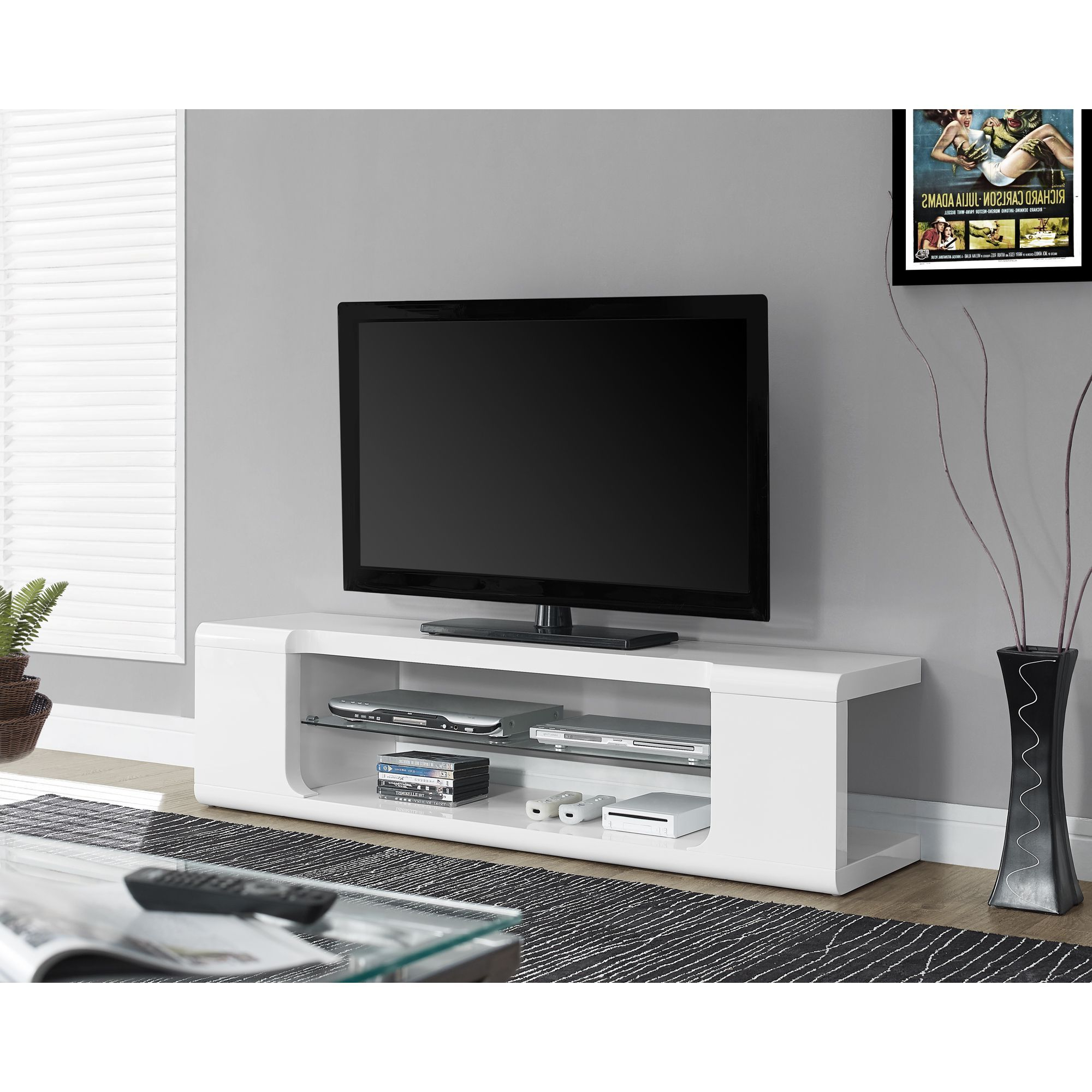 Most Recently Released Tv Stands For Large Tvs Inside Keep Your Living Space Clutter Free With This Unusual Yet (View 3 of 20)