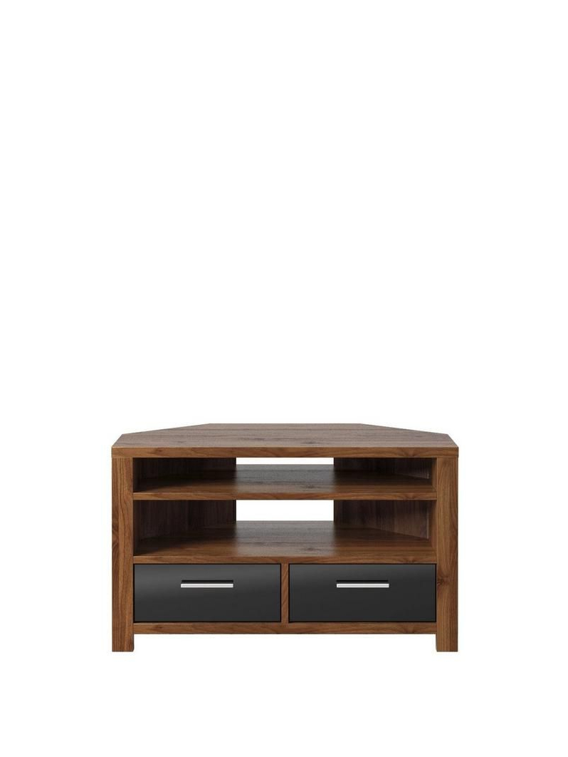 Most Recently Released Walnut And Black Gloss Tv Units Inside Womens, Mens And Kids Fashion, Furniture, Electricals & More (Gallery 17 of 20)