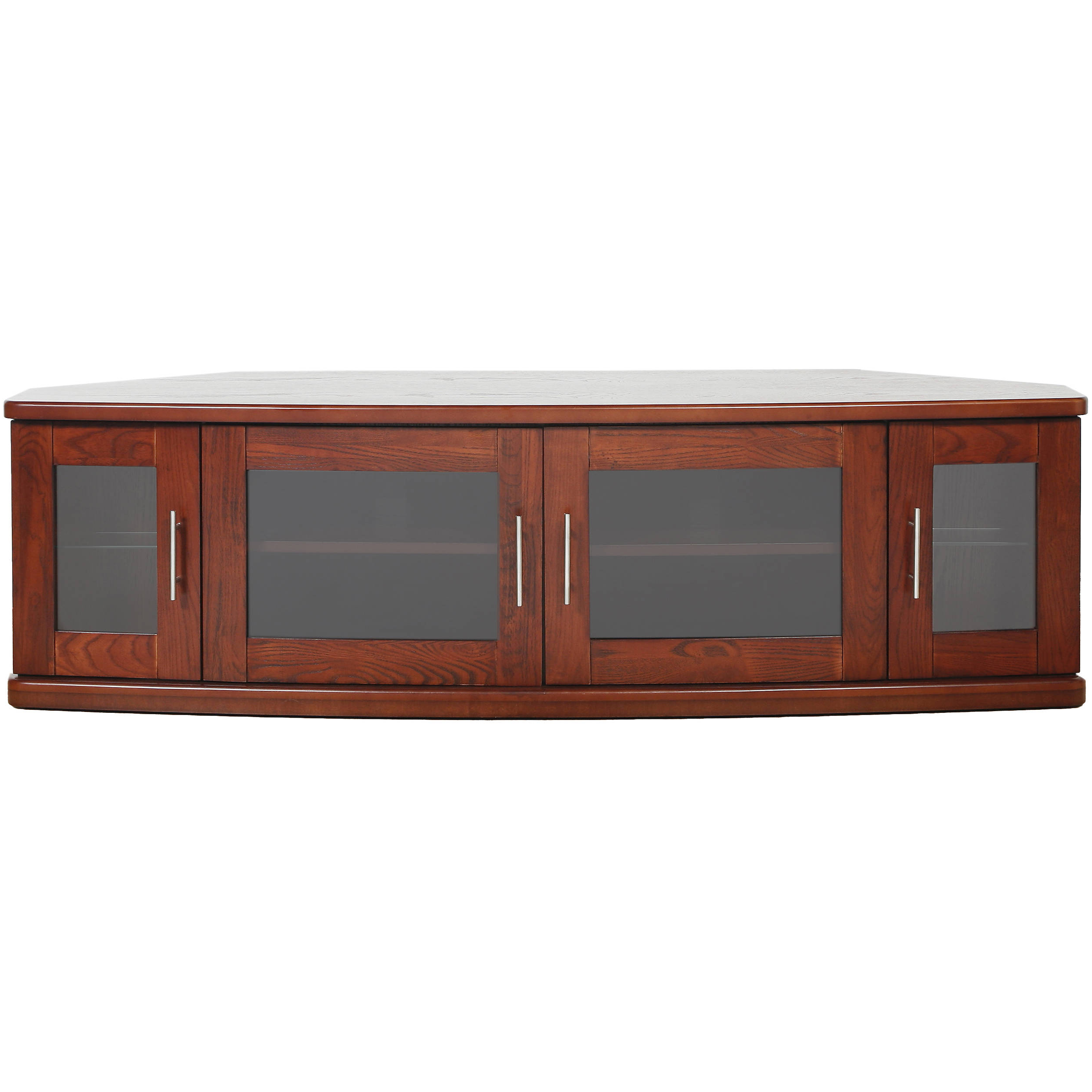 Most Recently Released Walnut Corner Tv Stands With Plateau Newport 62 Corner Tv Stand (walnut) Newport 62 (w) B&h (View 16 of 20)