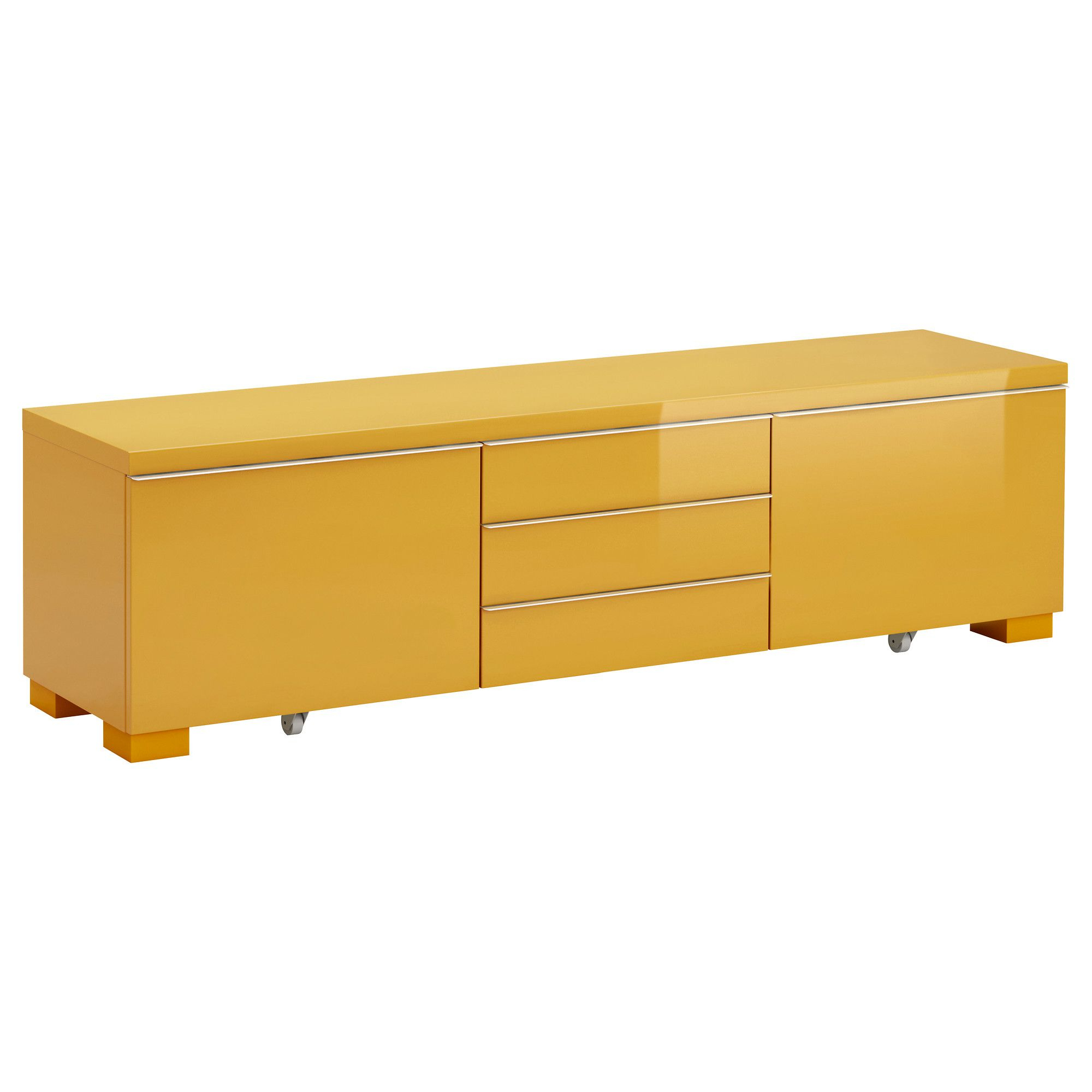 Most Recently Released Yellow Tv Stands In Bestå Burs Tv Unit – High Gloss Yellow – Ikea, $249, 70 7/8 X 16 1/ (View 9 of 20)