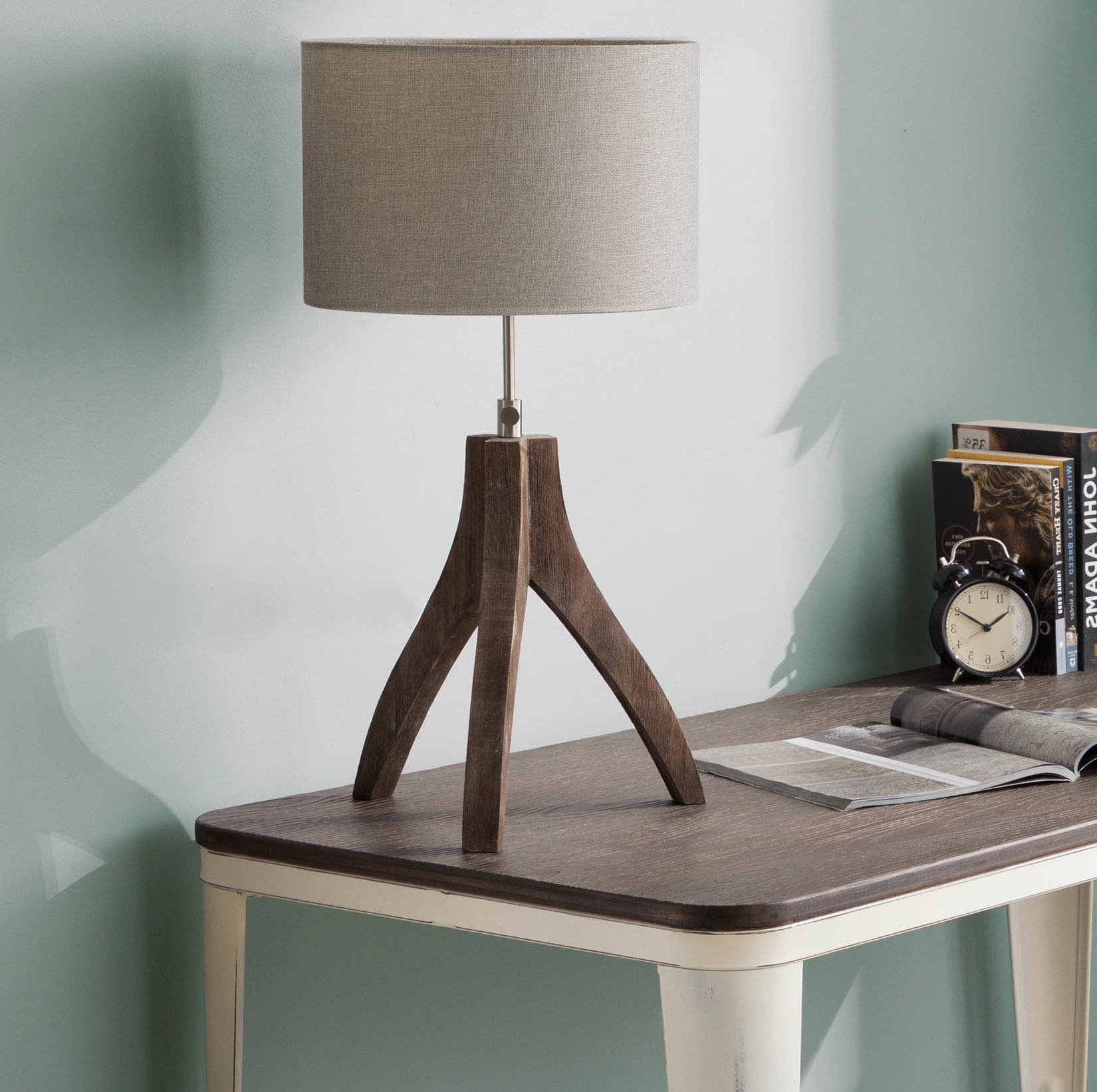 """Most Up To Date 17 Stories Adelmo 25"""" Tripod Table Lamp (View 8 of 20)"""