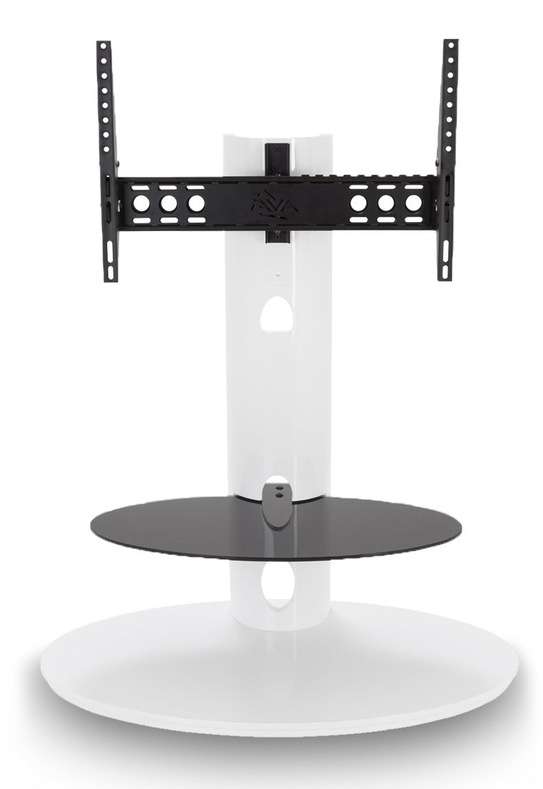 Most Up To Date Avf Fsl930Chegw Tv Stands In White Cantilever Tv Stands (Gallery 6 of 20)