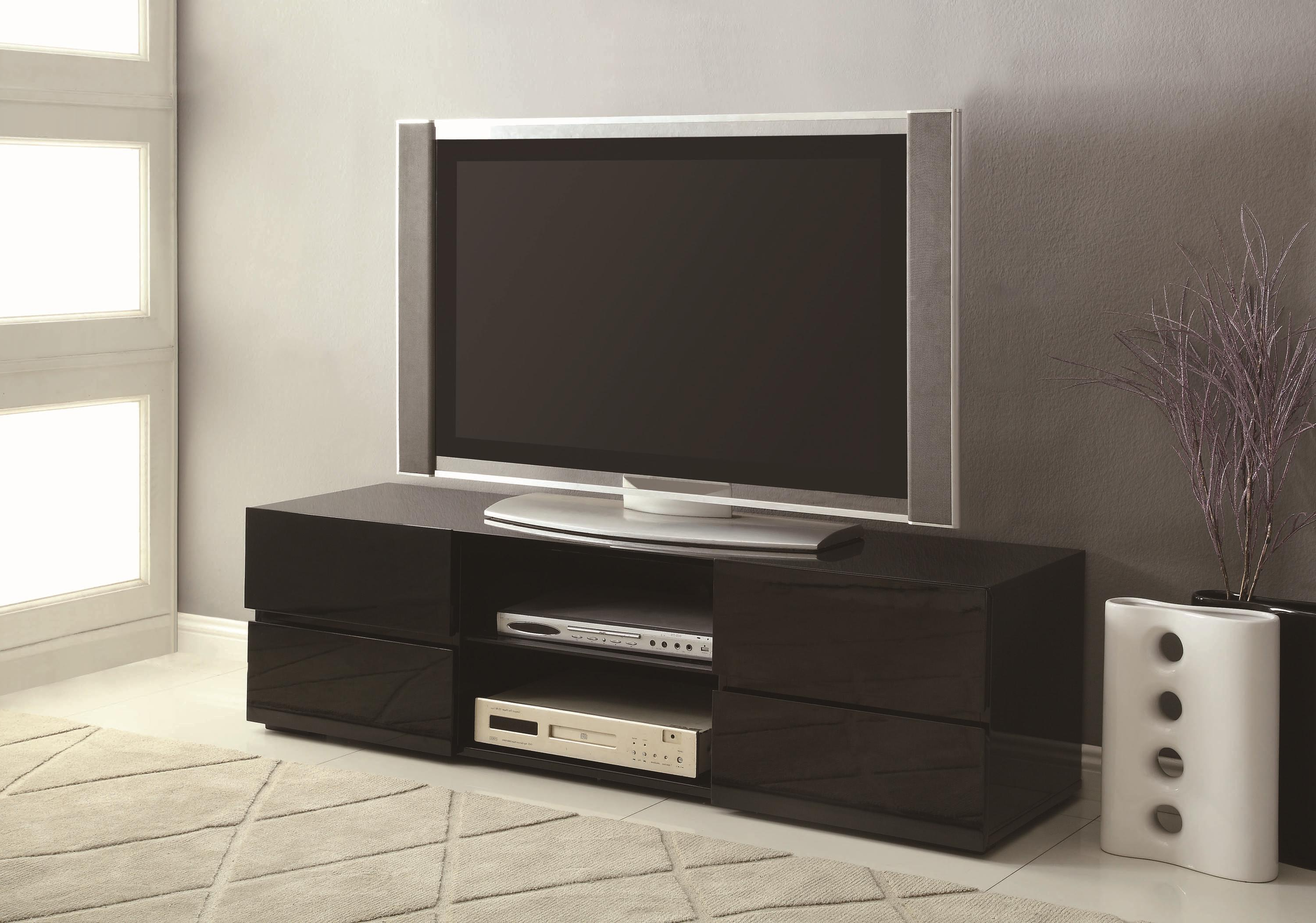 Most Up To Date Black Tv Stands With Drawers Regarding Bana Home Is Where The Heart Is (View 16 of 20)