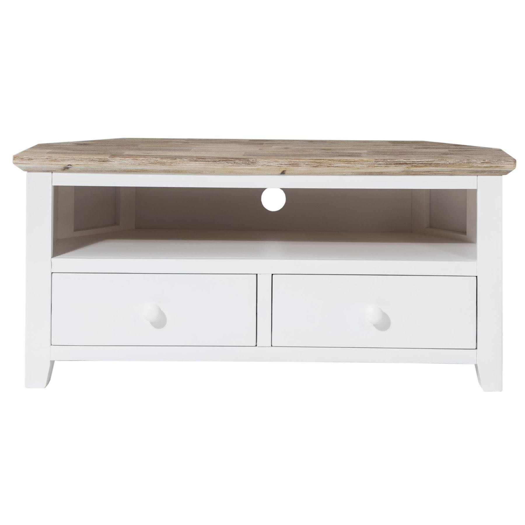 Most Up To Date Florence White Corner Tv Unit With Drawers (View 8 of 20)