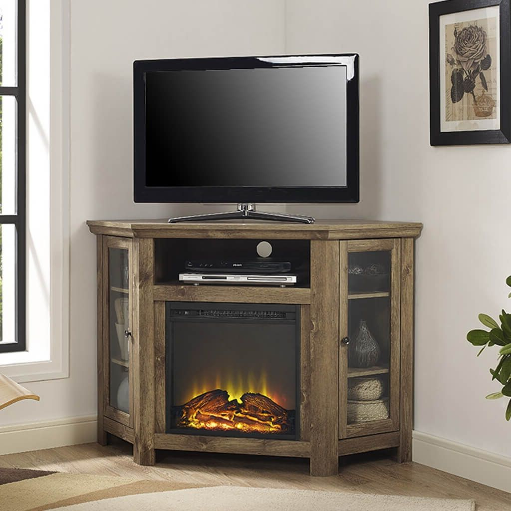 Most Up To Date Furniture: Solid Black Electric Fireplace Kit With Matching Tv Stand For Tv Stands With Matching Bookcases (View 3 of 20)