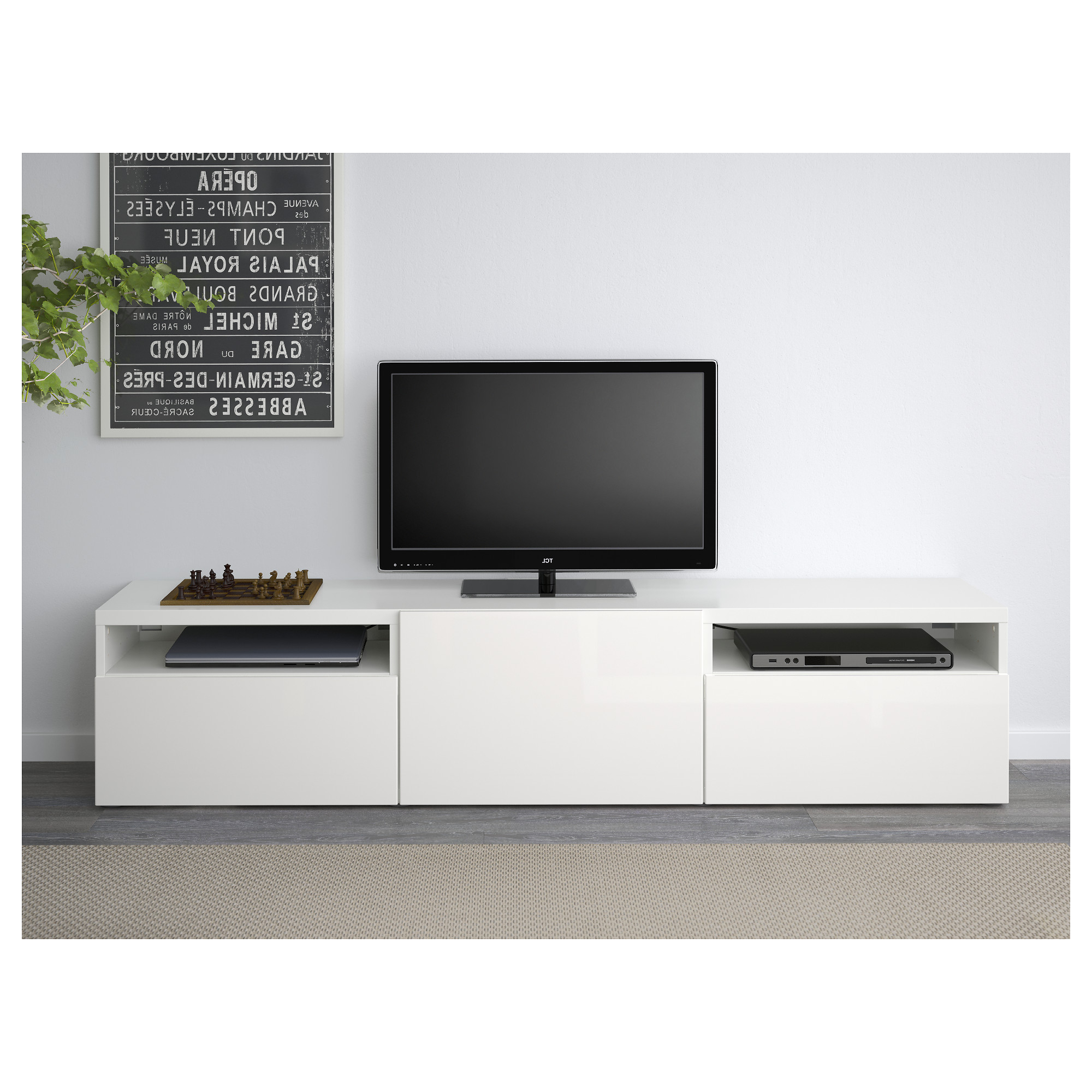Most Up To Date Ikea White Gloss Tv Units For Tv Stands Sam's Club Stand Ikea For Small Apartments Cabinet With (View 17 of 20)