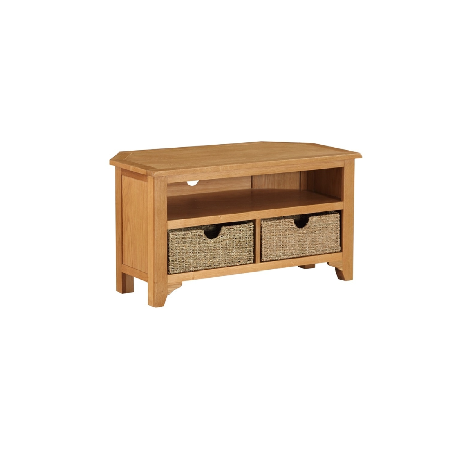 Most Up To Date Kansas Small Corner Tv Unit With Baskets With Small Corner Tv Cabinets (View 6 of 20)