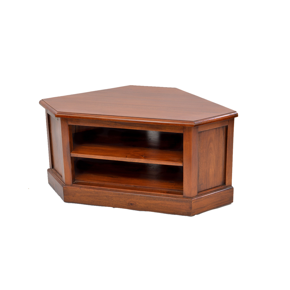Most Up To Date Mahogany Corner Tv Cabinets Regarding Inadam Furniture – Low Corner Tv Unit – Classical Mahogany Collection (View 4 of 20)