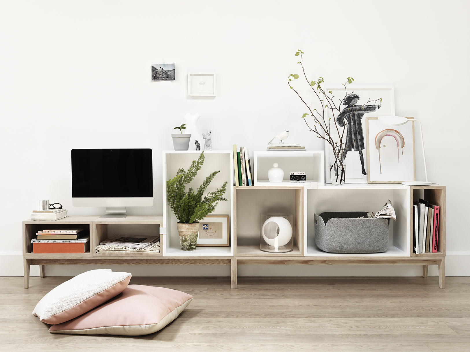 Most Up To Date Mesmerizing White Scandinavian Bookshelves With Tv Stand Added Multi Pertaining To Iconic Tv Stands (View 13 of 20)