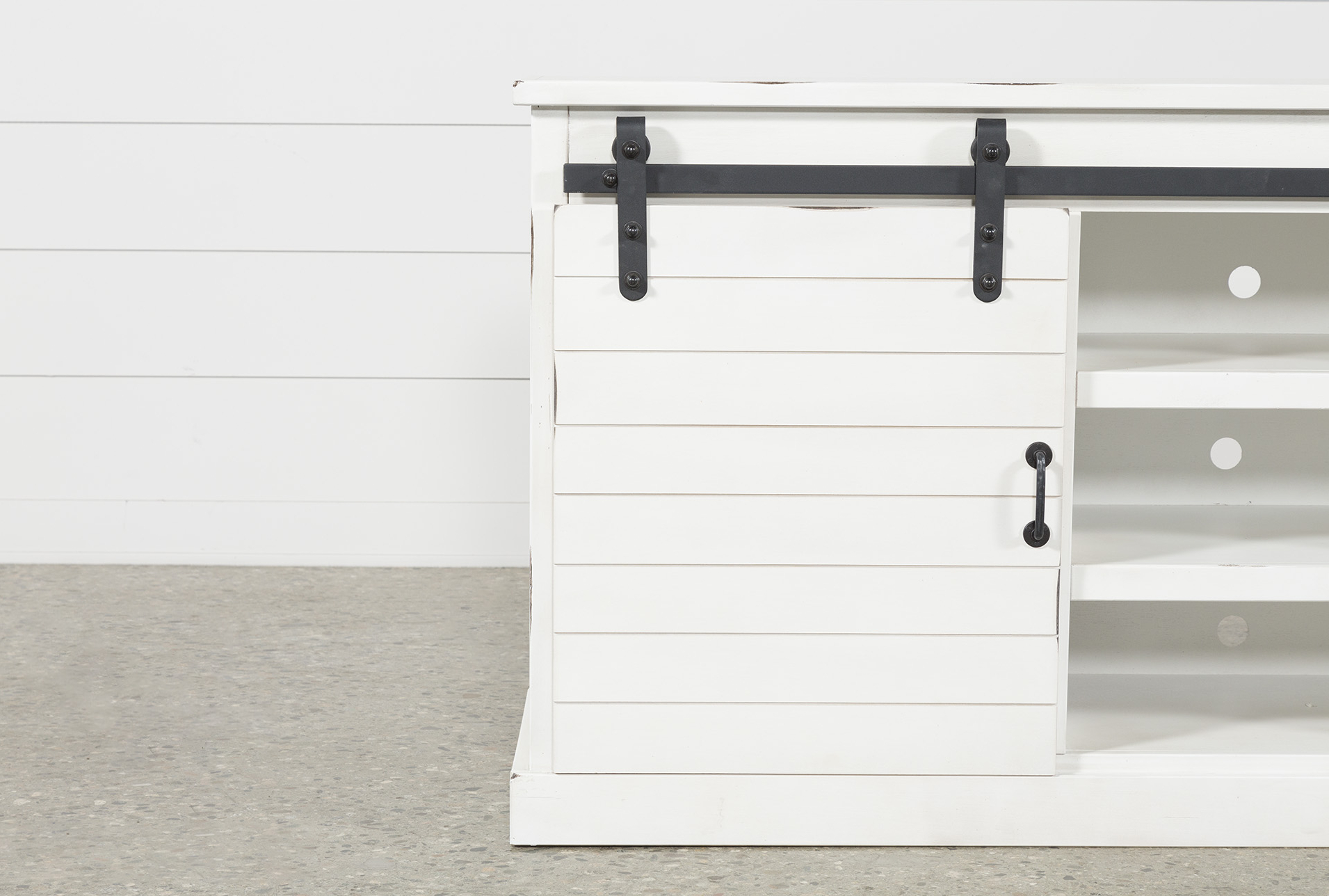 Most Up To Date Noah Rustic White 66 Inch Tv Stands With Regard To Noah Rustic White 66 Inch Tv Stand (View 9 of 20)