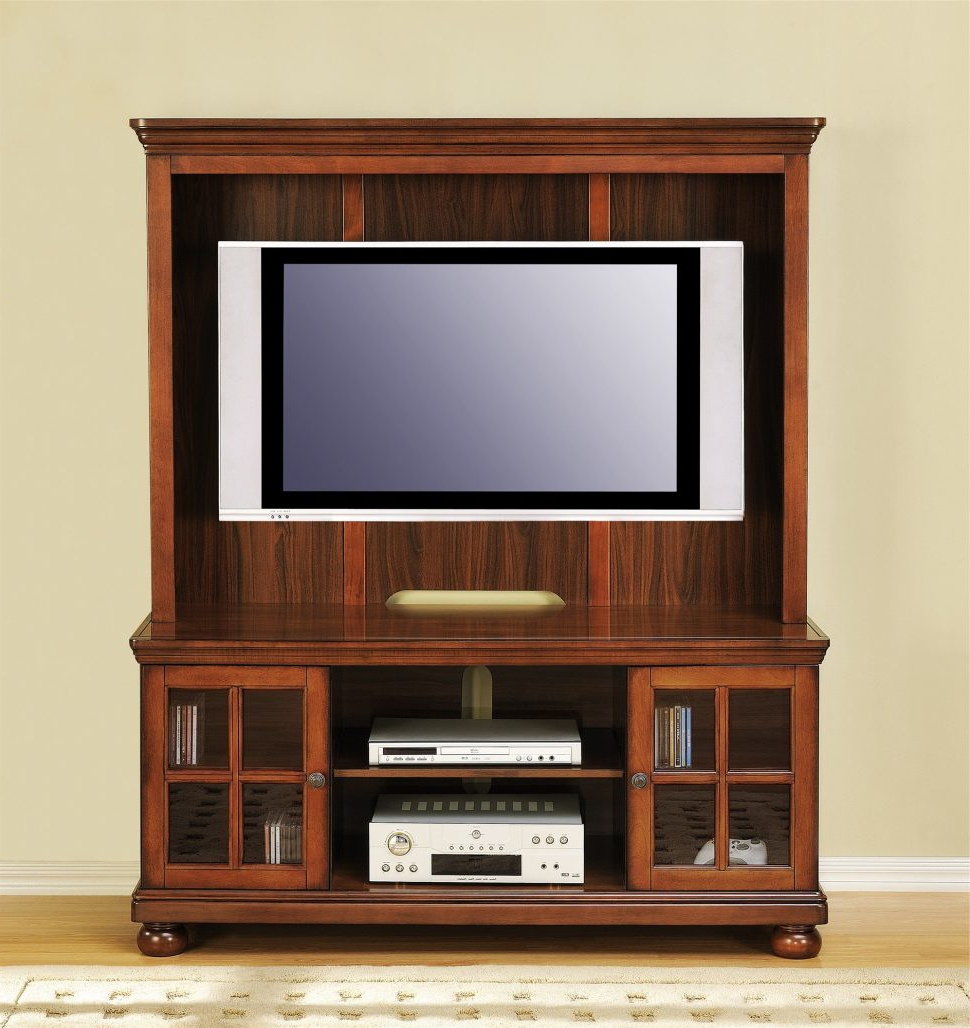Most Up To Date Oak Tv Stands For Flat Screens Pertaining To Tv Stands And Entertainment Centers : Corner Entertainment Center (View 18 of 20)