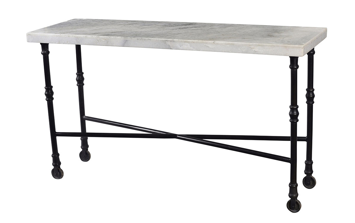 Most Up To Date Parsons White Marble Top & Brass Base 48X16 Console Tables With Regard To White Marble Top Sofa Table – Table Designs (View 5 of 20)