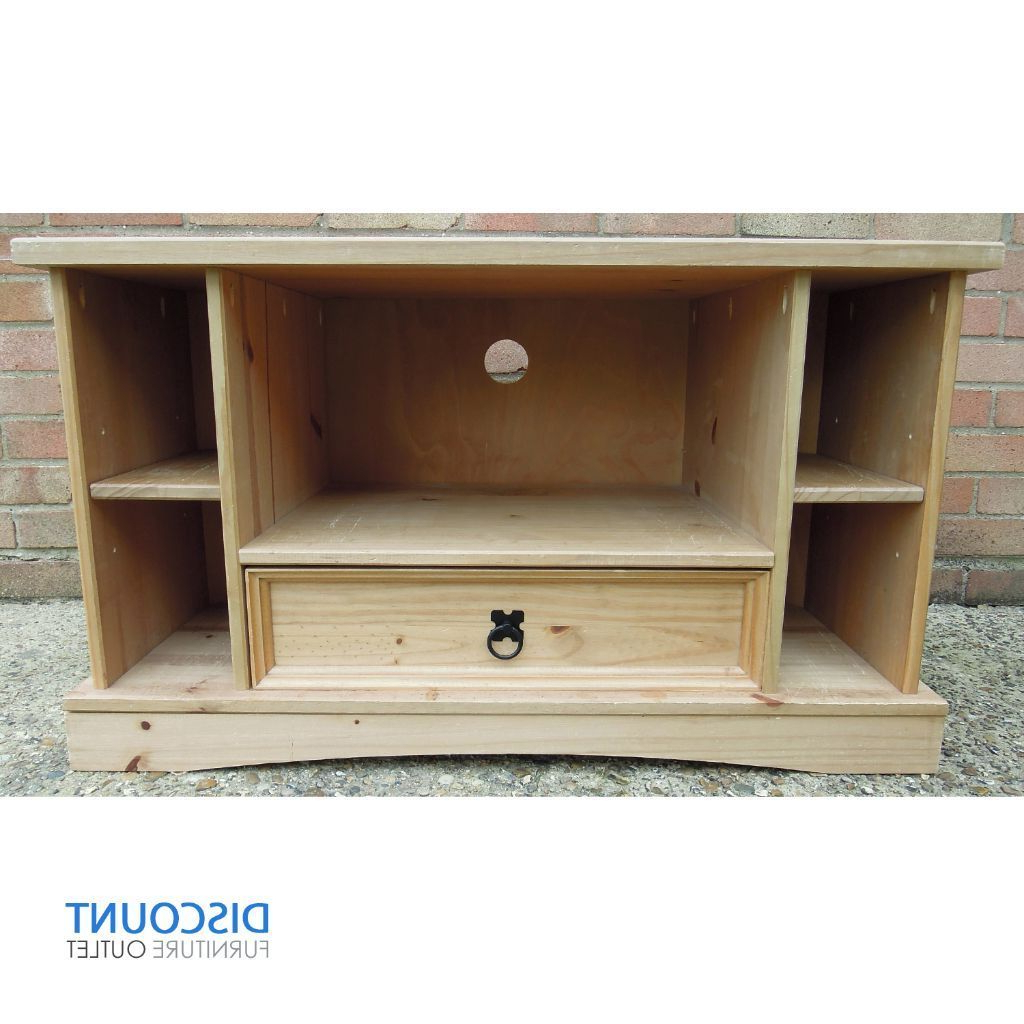 Most Up To Date Pine Corner Tv Stands Regarding Corona Mexican Pine Corner Tv Unit Stand Furniture Free Delivery In (View 12 of 20)