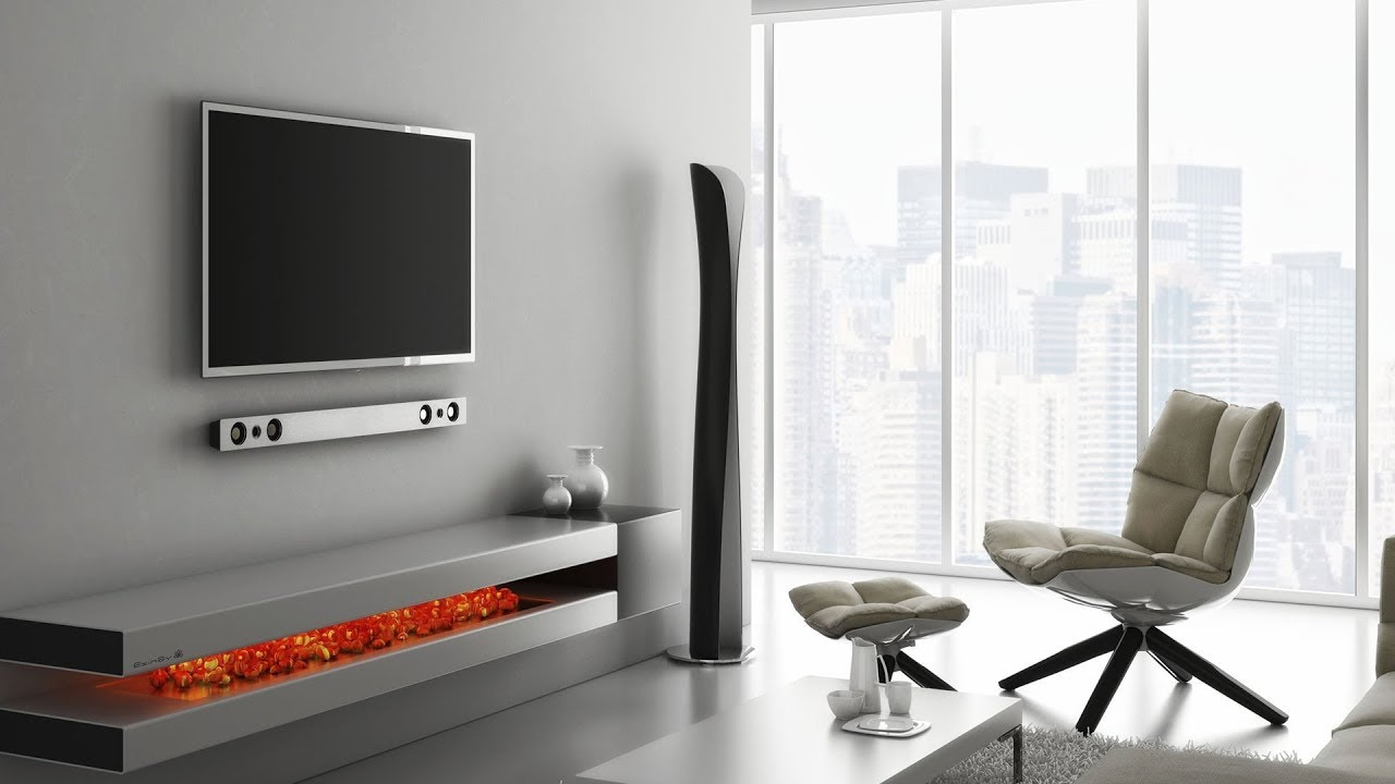 Most Up To Date Stylish Wall Mount – Modern Tv Unit (View 14 of 20)