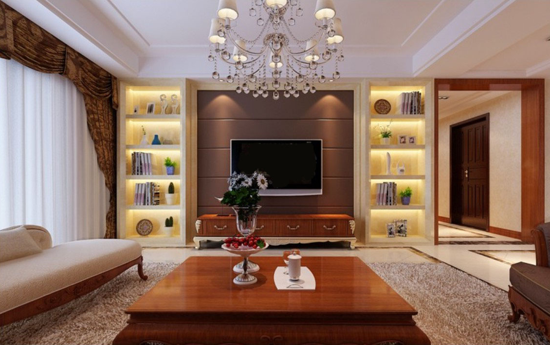 Most Up To Date Wall Display Units And Tv Cabinets Within Upscale Tv Wall Units Design Wooden Interior Ideas Bedroom Prissy (View 8 of 20)