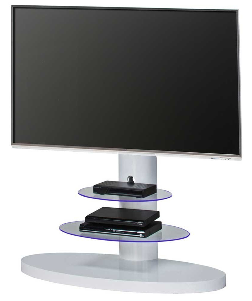 Most Up To Date White Cantilever Tv Stands Throughout Maja 1636 White Cantilever Tv Stand (View 12 of 20)