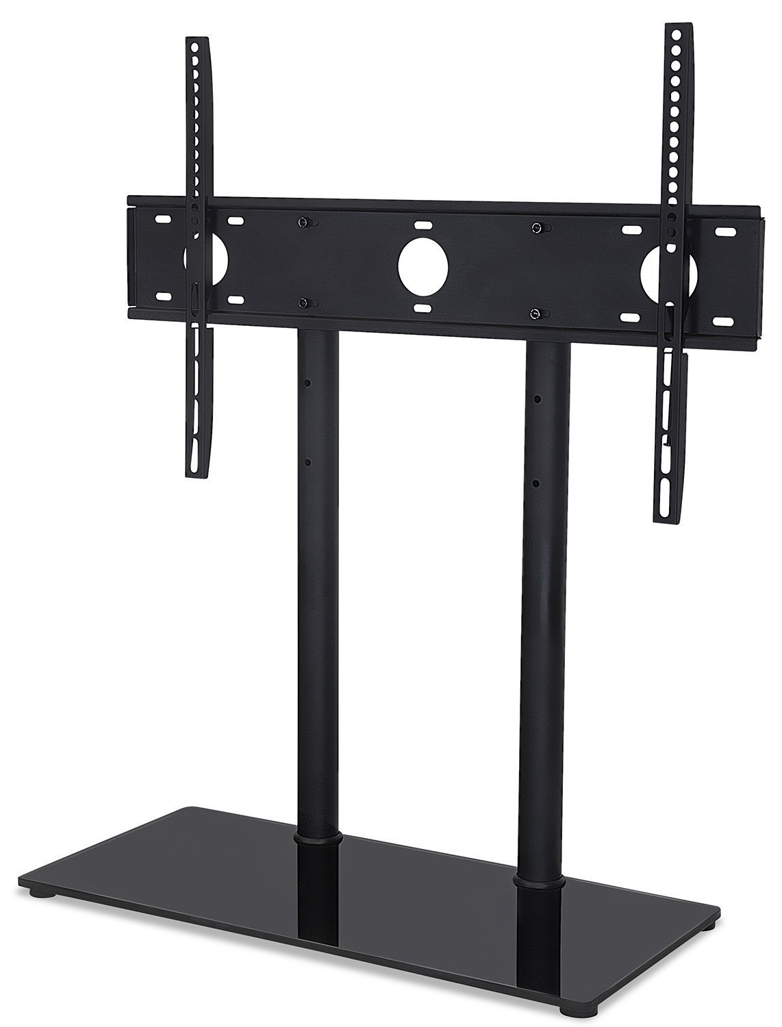 Mount It Universal Tabletop Tv Stand And Av Media Fixed Desktop Within Most Recently Released Tabletop Tv Stands (View 5 of 20)