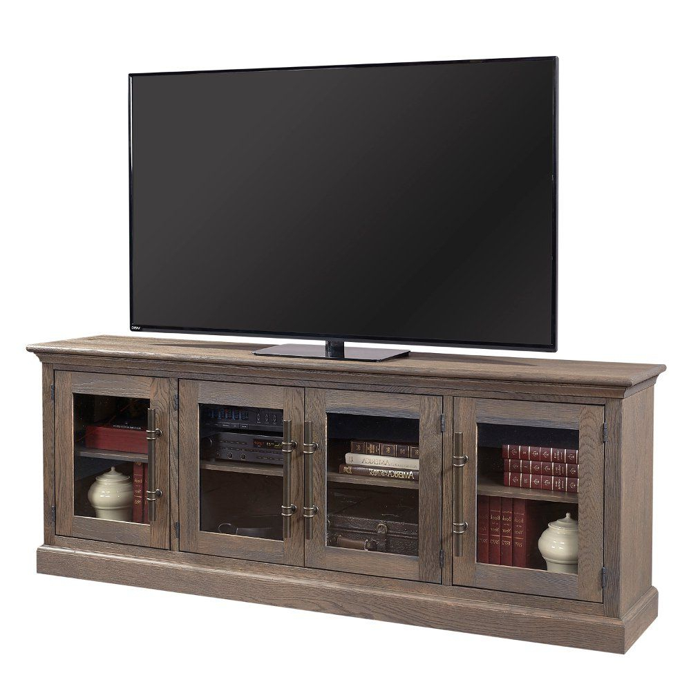Natural Brown Rustic Oak 85 Inch Tv Stand – Barnhouse In 2018 (Gallery 7 of 20)