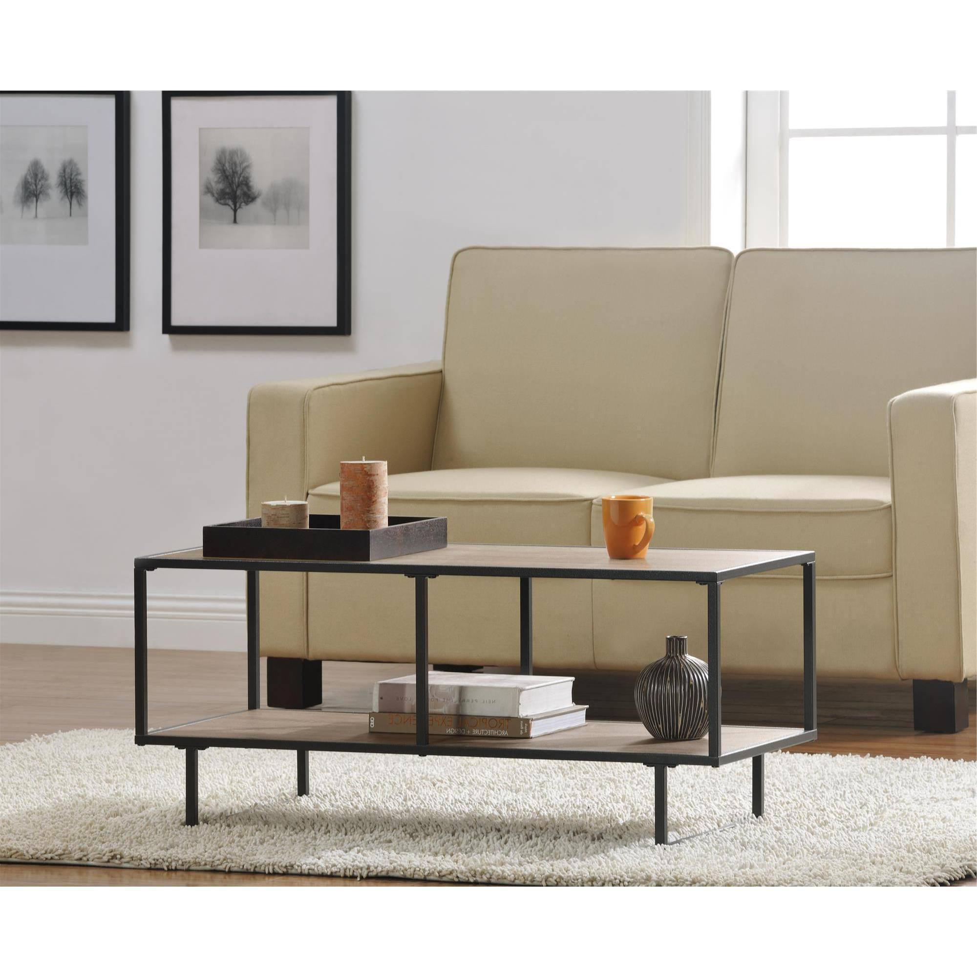 Newest Ameriwood Home Emmett Tv Stand/coffee Table – Walmart Within Coffee Tables And Tv Stands (Gallery 8 of 20)