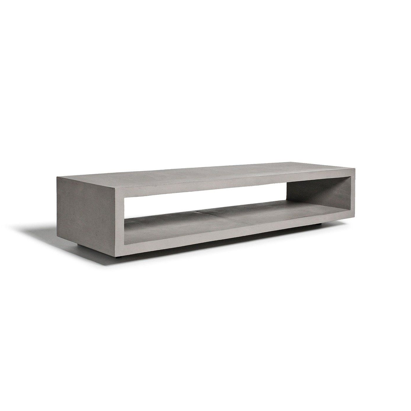 Newest Bench Tv Stands Intended For Monobloc Tv Benchlyon Beton In  (View 16 of 20)